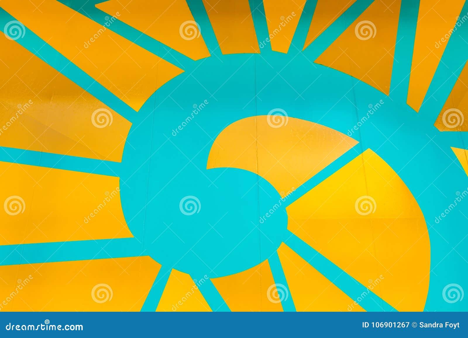 Koloru żółtego i zieleni Ślimakowaty tło