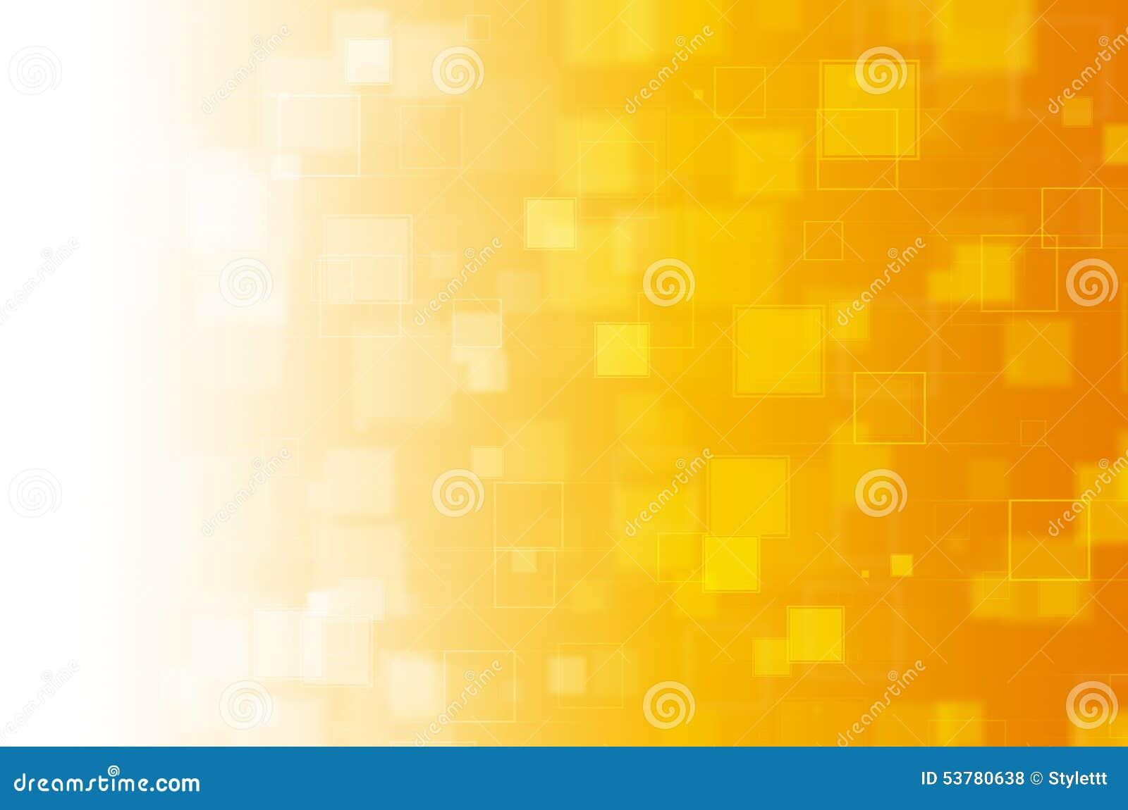 Koloru żółtego kwadratowy abstrakcjonistyczny tło