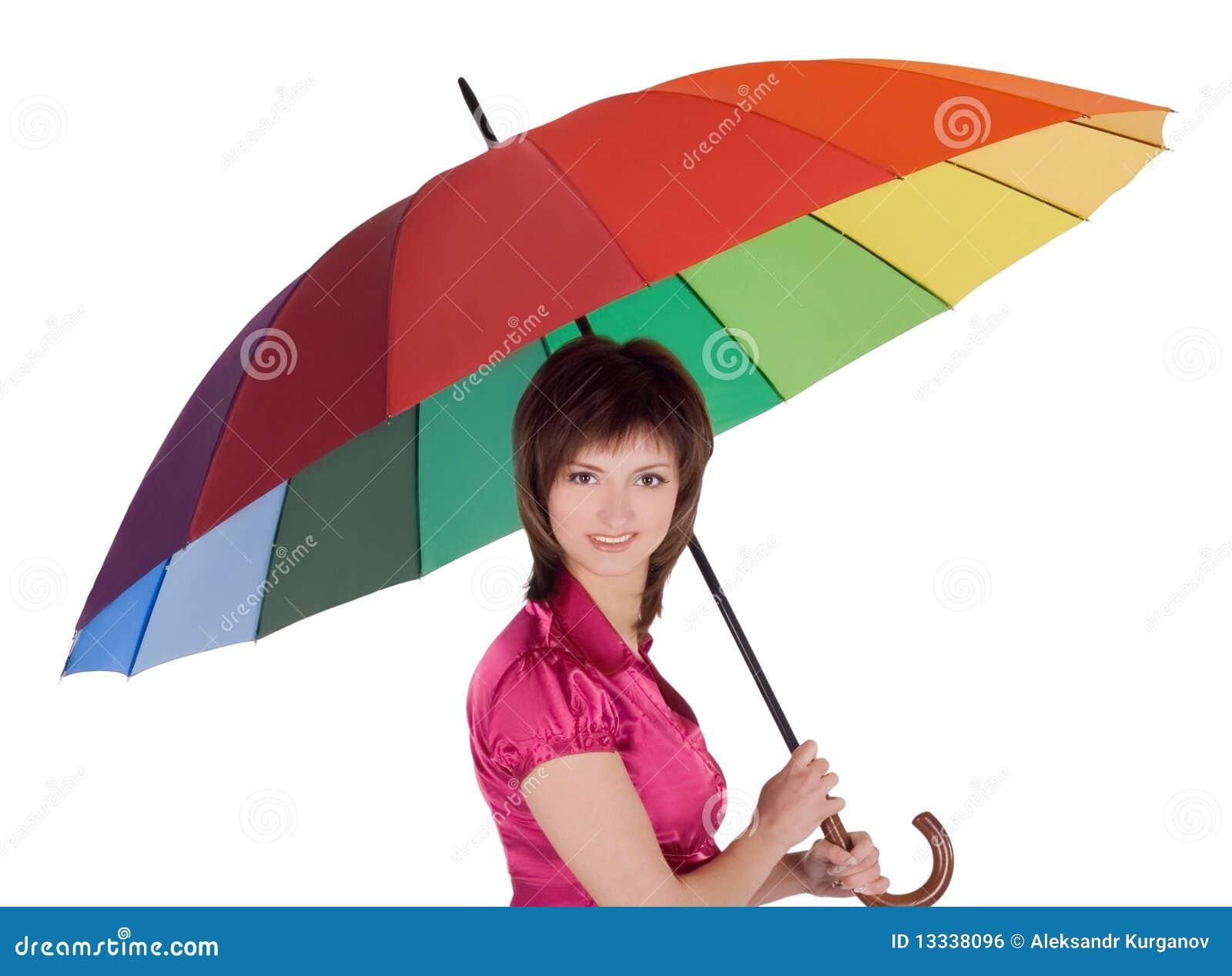 Koloru damy trwanie parasolowi potomstwa