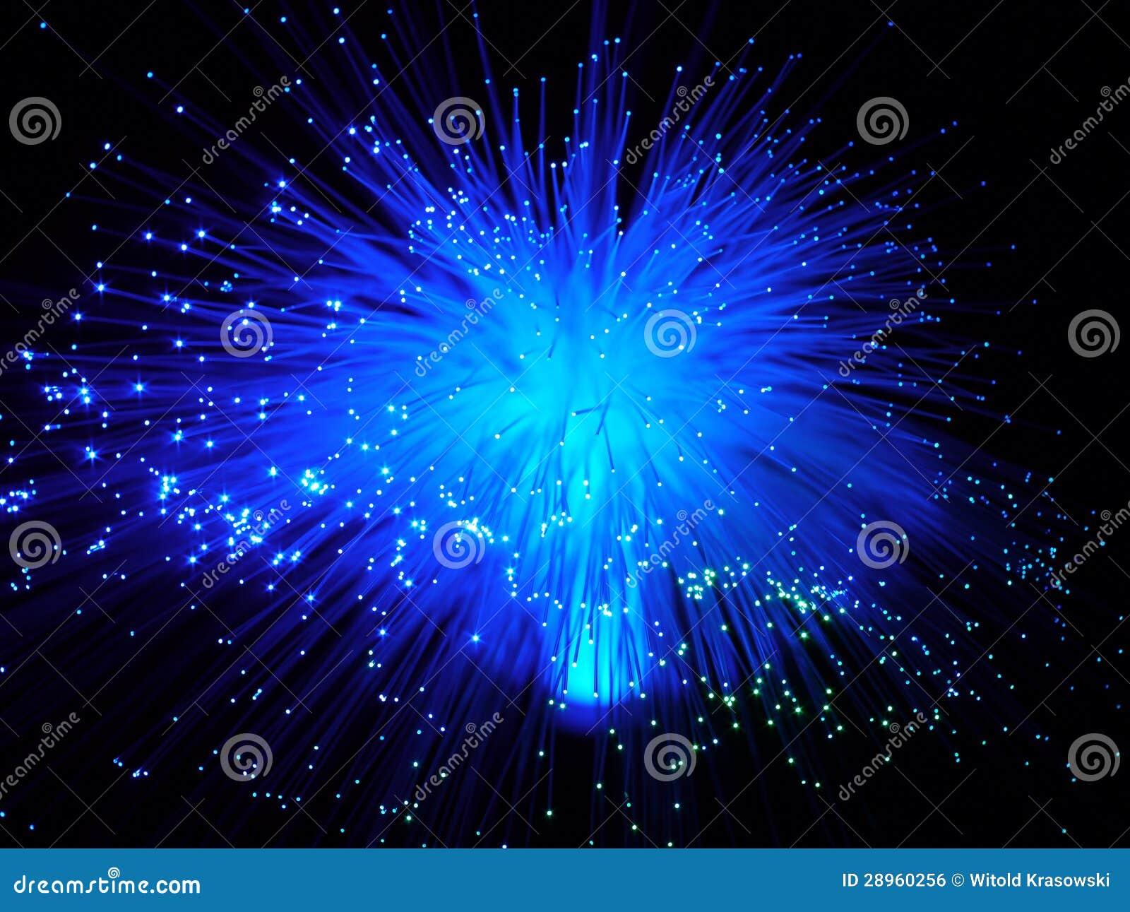 Koloru włókna światłowodowego kable