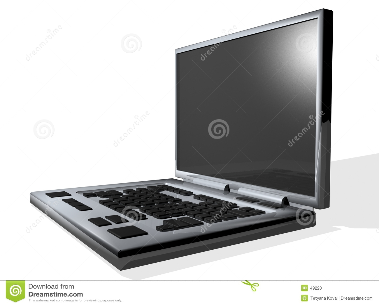 Kolory grey laptop
