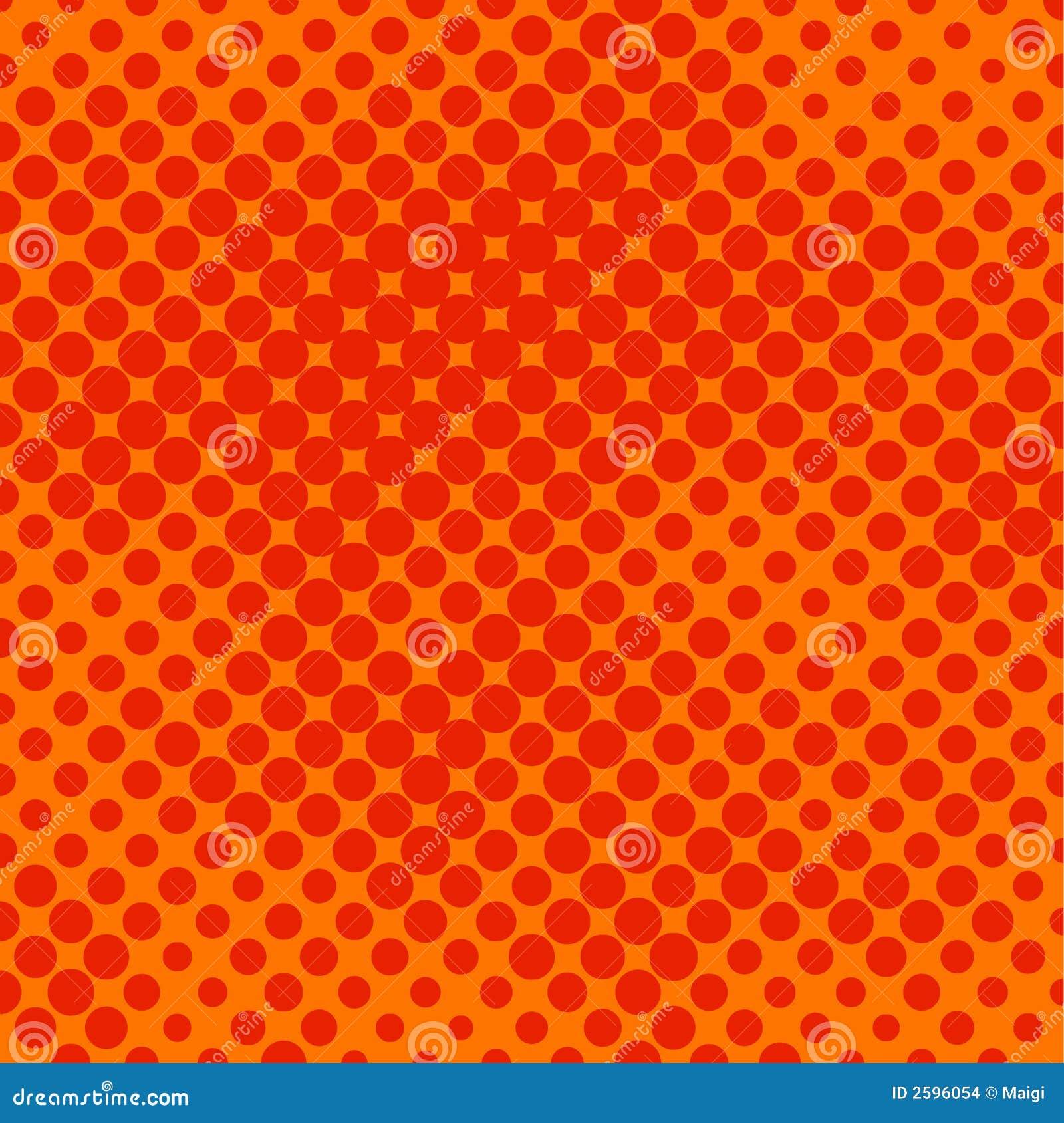 Kolory w półtonach pomarańcze