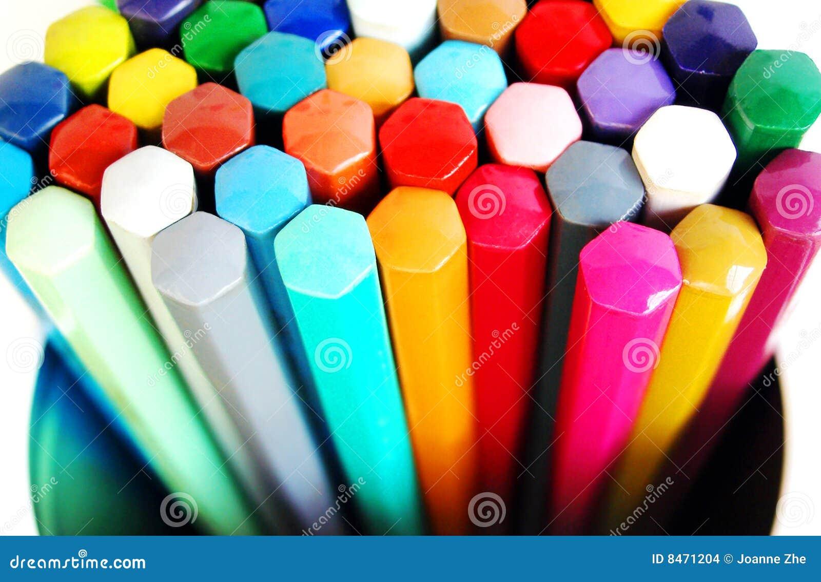 Kolorystyka pudełkowaci ołówki