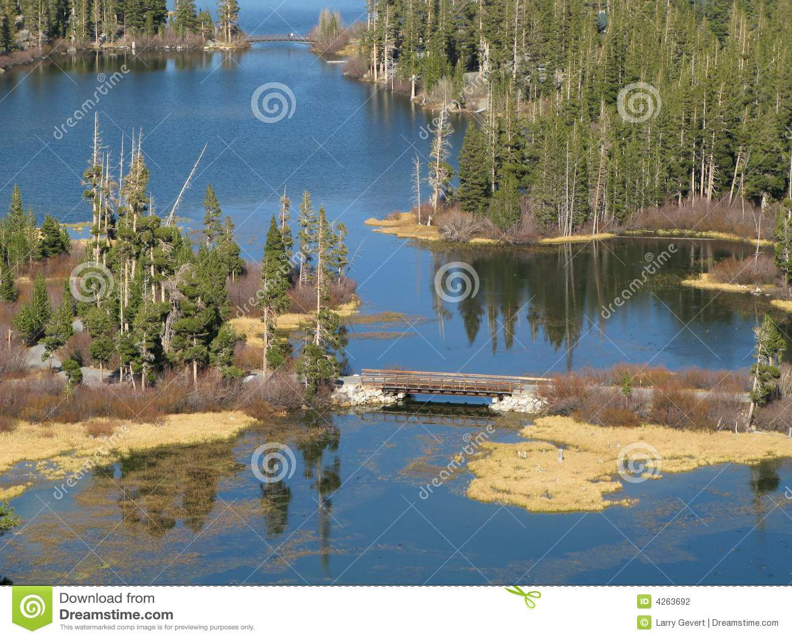 Kolossala Kalifornien lakes
