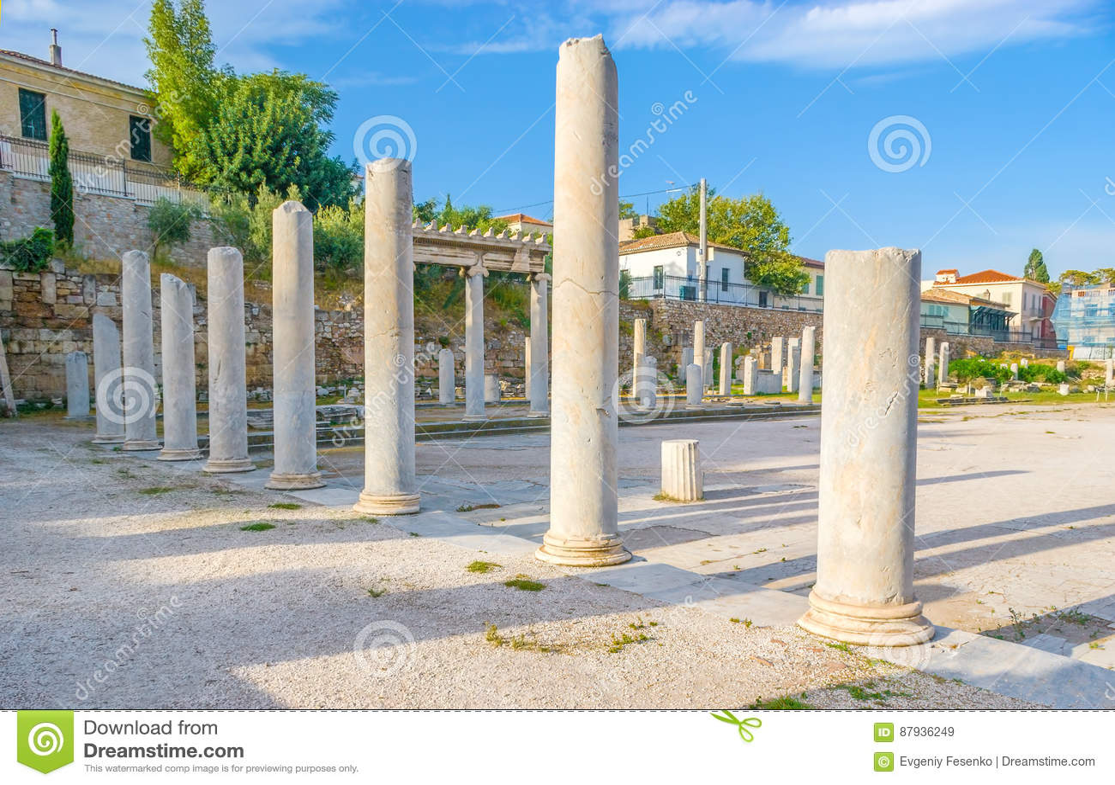 Kolumny w Romańskiej agorze