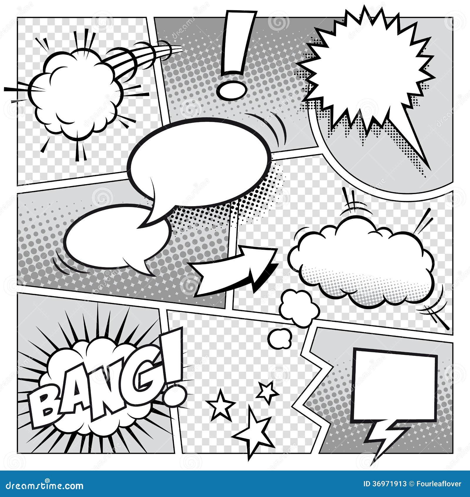Komiks strona
