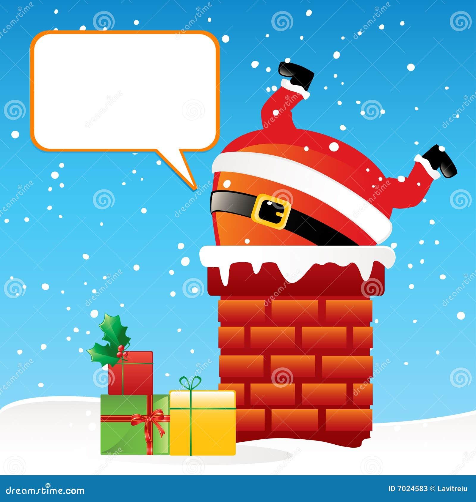 Kominowy Claus Santa