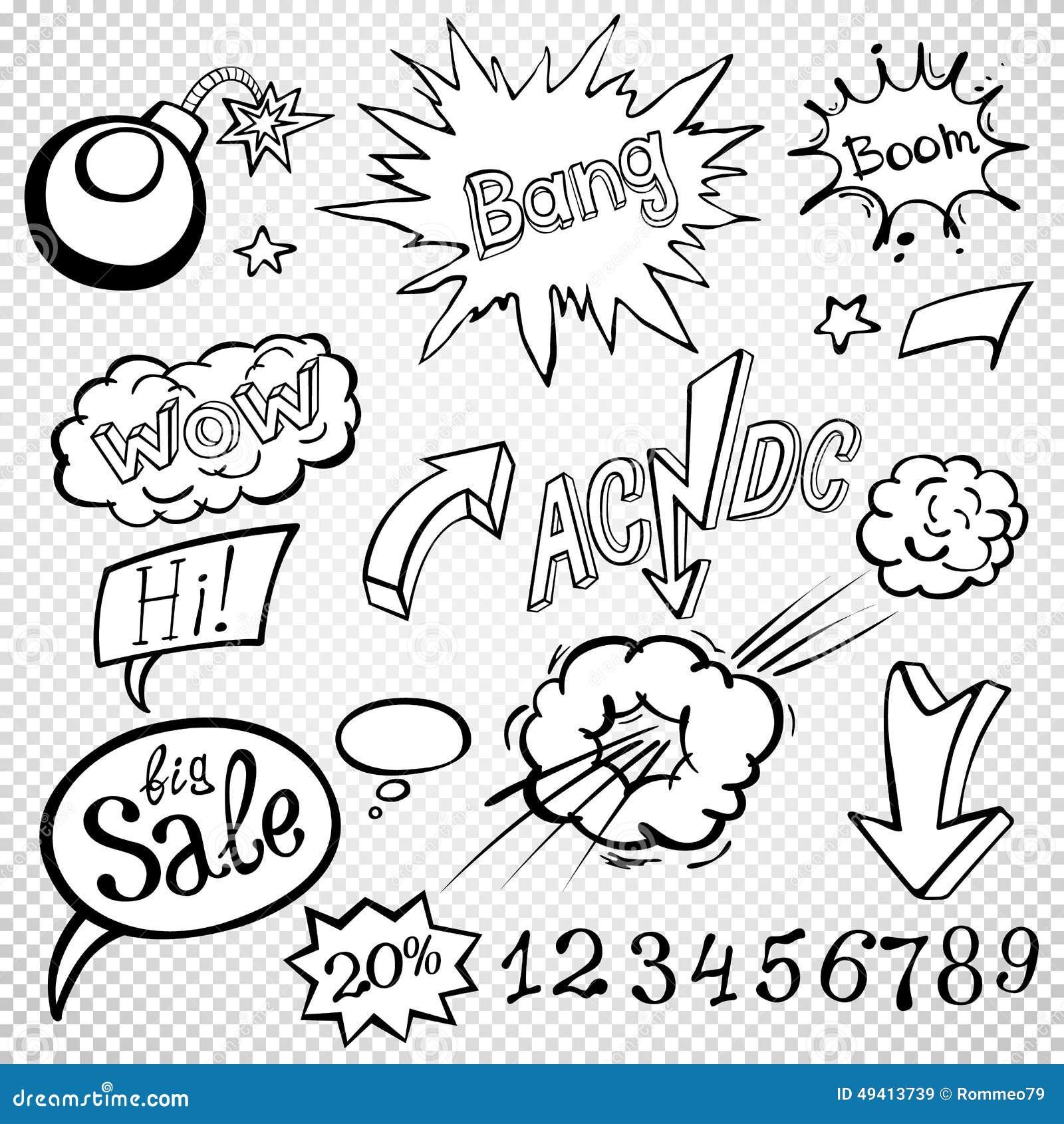 Download Komische Artschablonen Der Bombenexplosion Auch Im Corel Abgehobenen Betrag Vektor Abbildung - Illustration von knall, überschneidung: 49413739