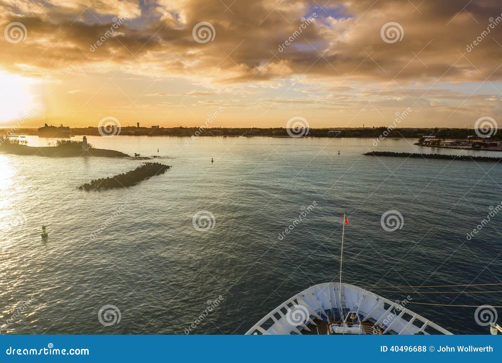 Kommen in Nassau