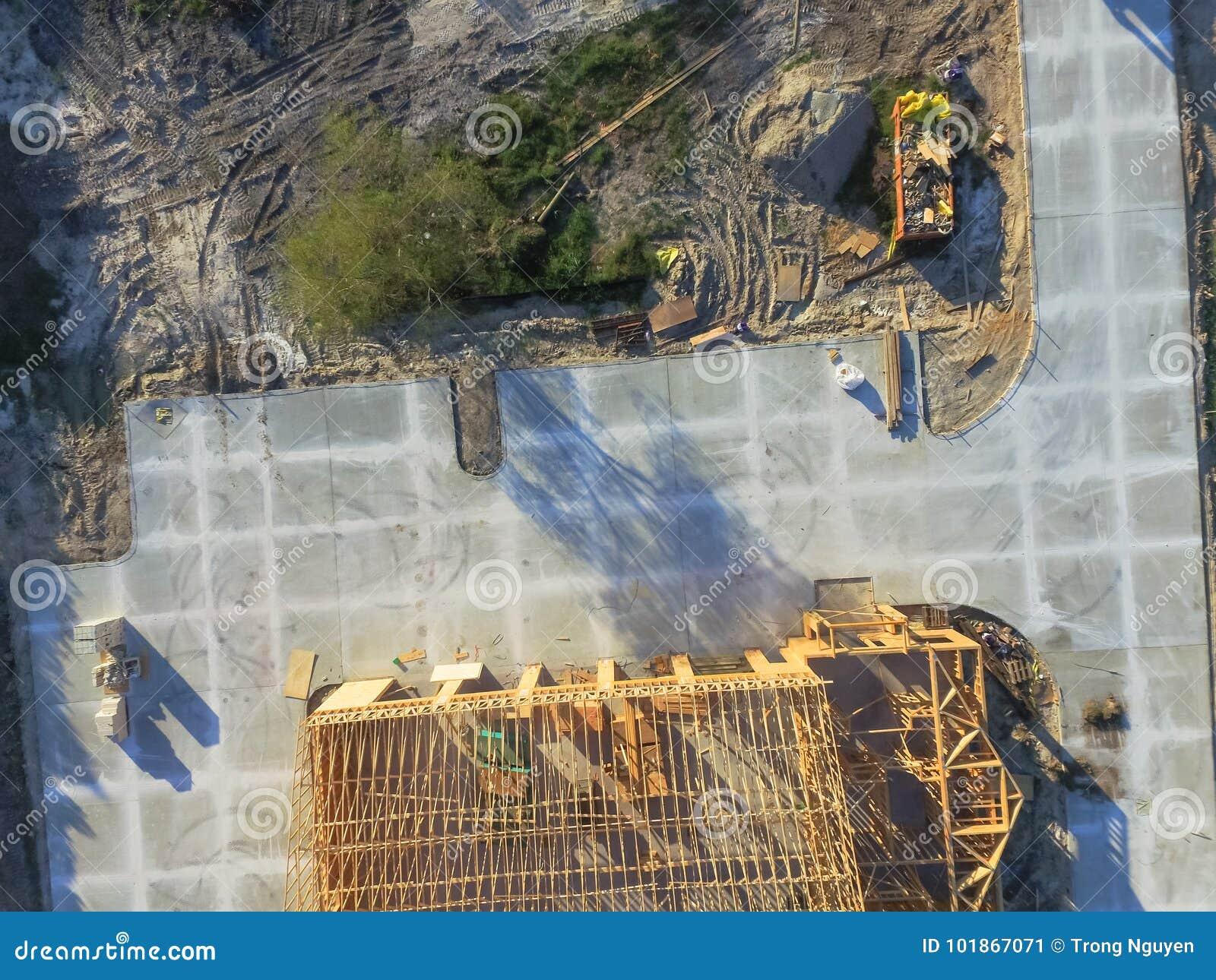 Kommersiell byggnadskonstruktion för flyg- trähus