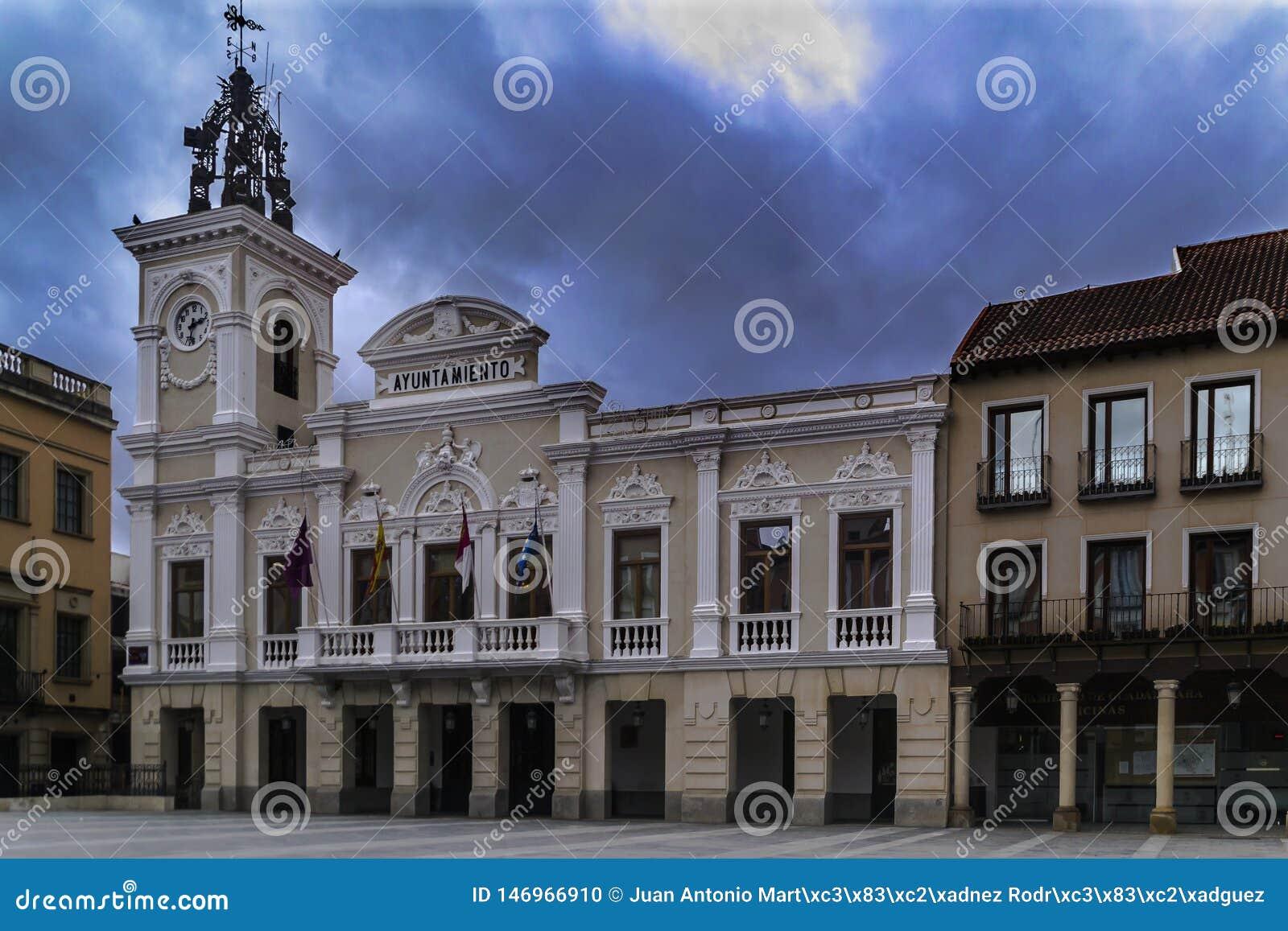 Kommunfullmäktige av Guadalajara spain