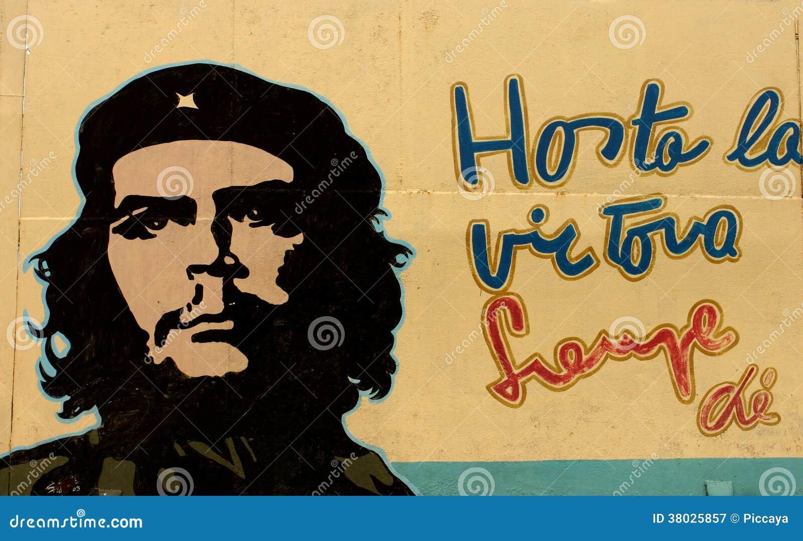 Kommunistisk propaganda med Che Guevara