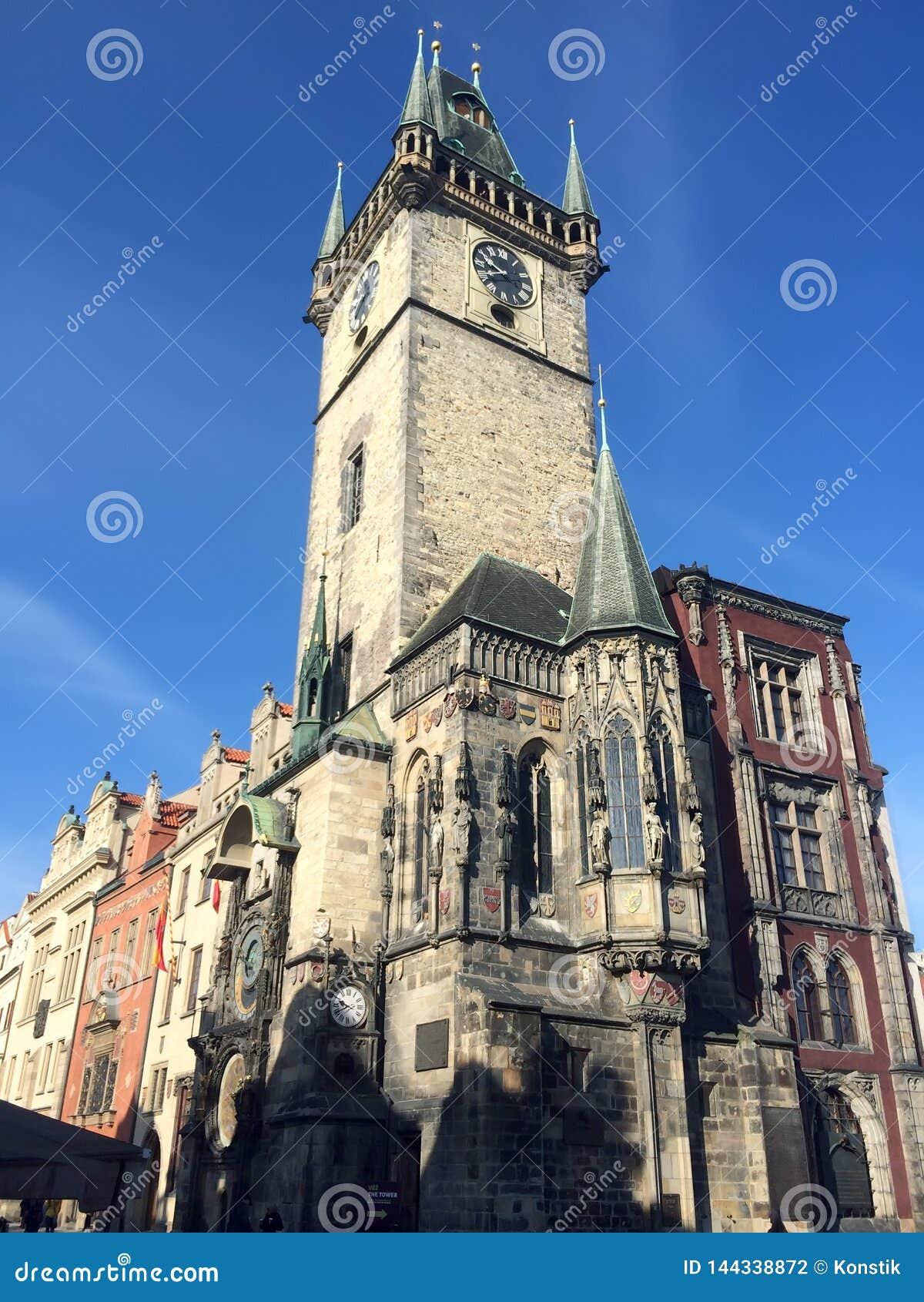 Komnata Prague republiki czeskiej starego miasta