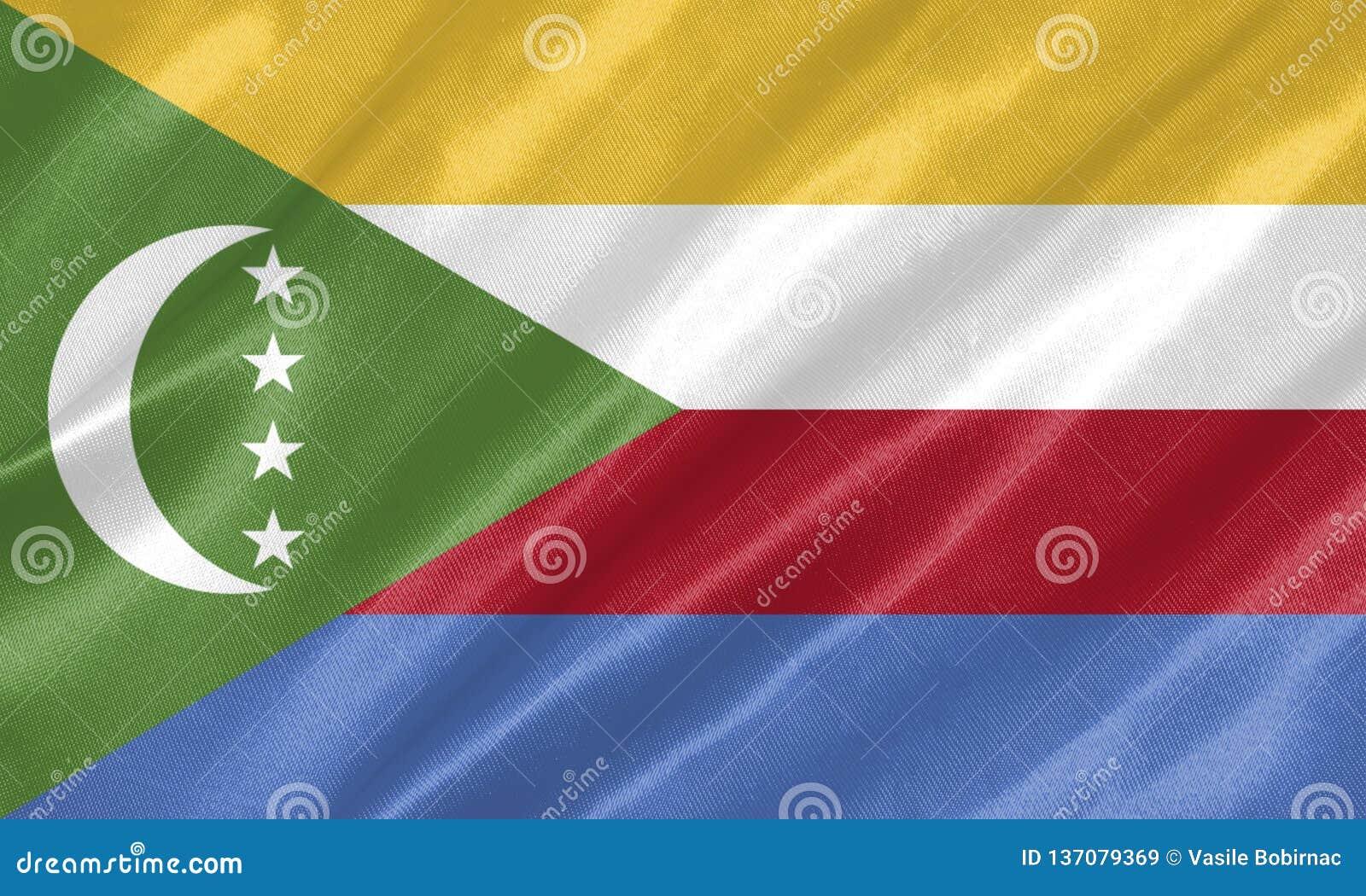 Komoren-Flagge