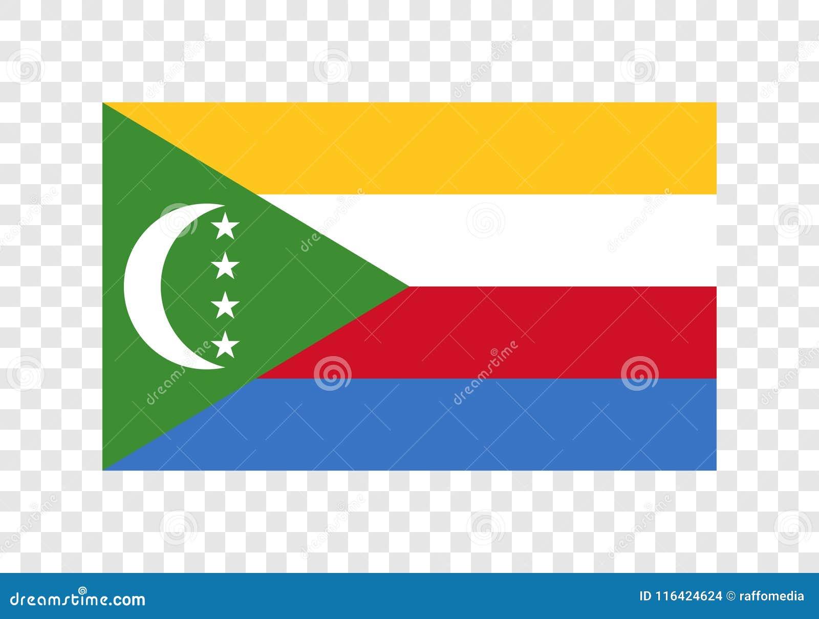 Komoren - Staatsflagge