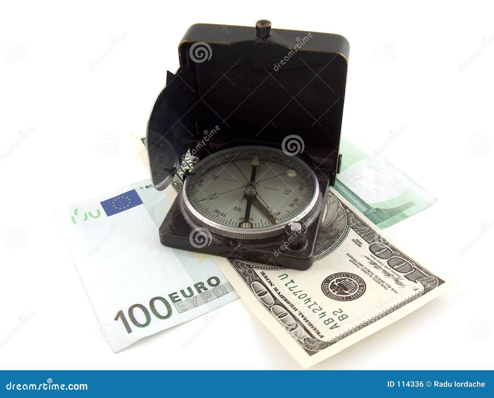 Kompas pieniądze