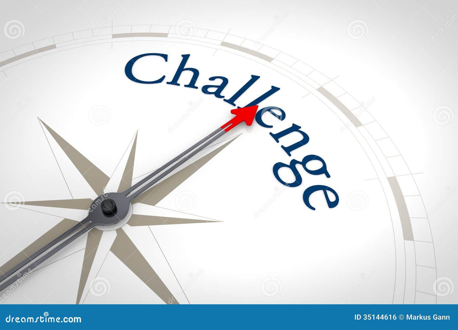 Kompass-Herausforderung