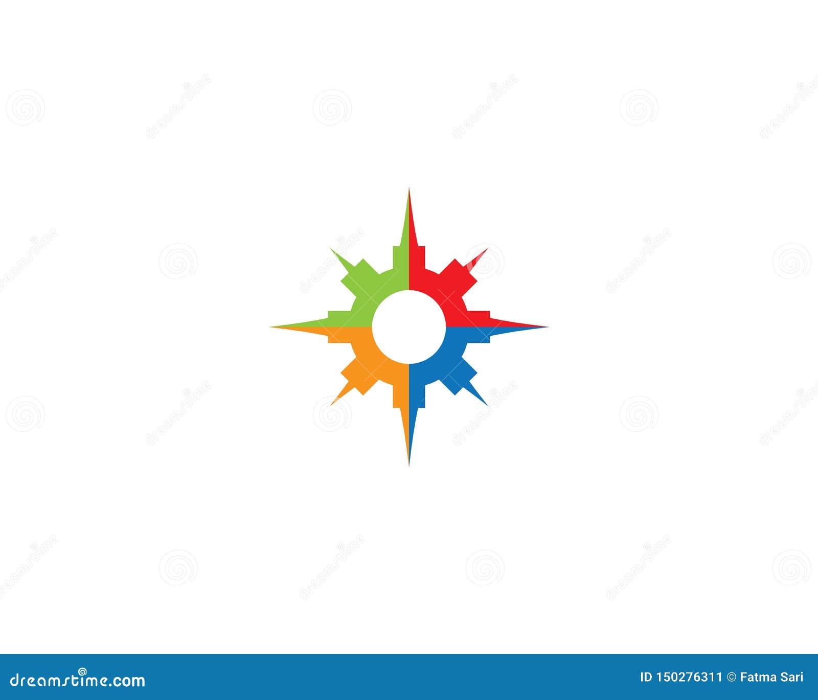 Kompass Logo Template