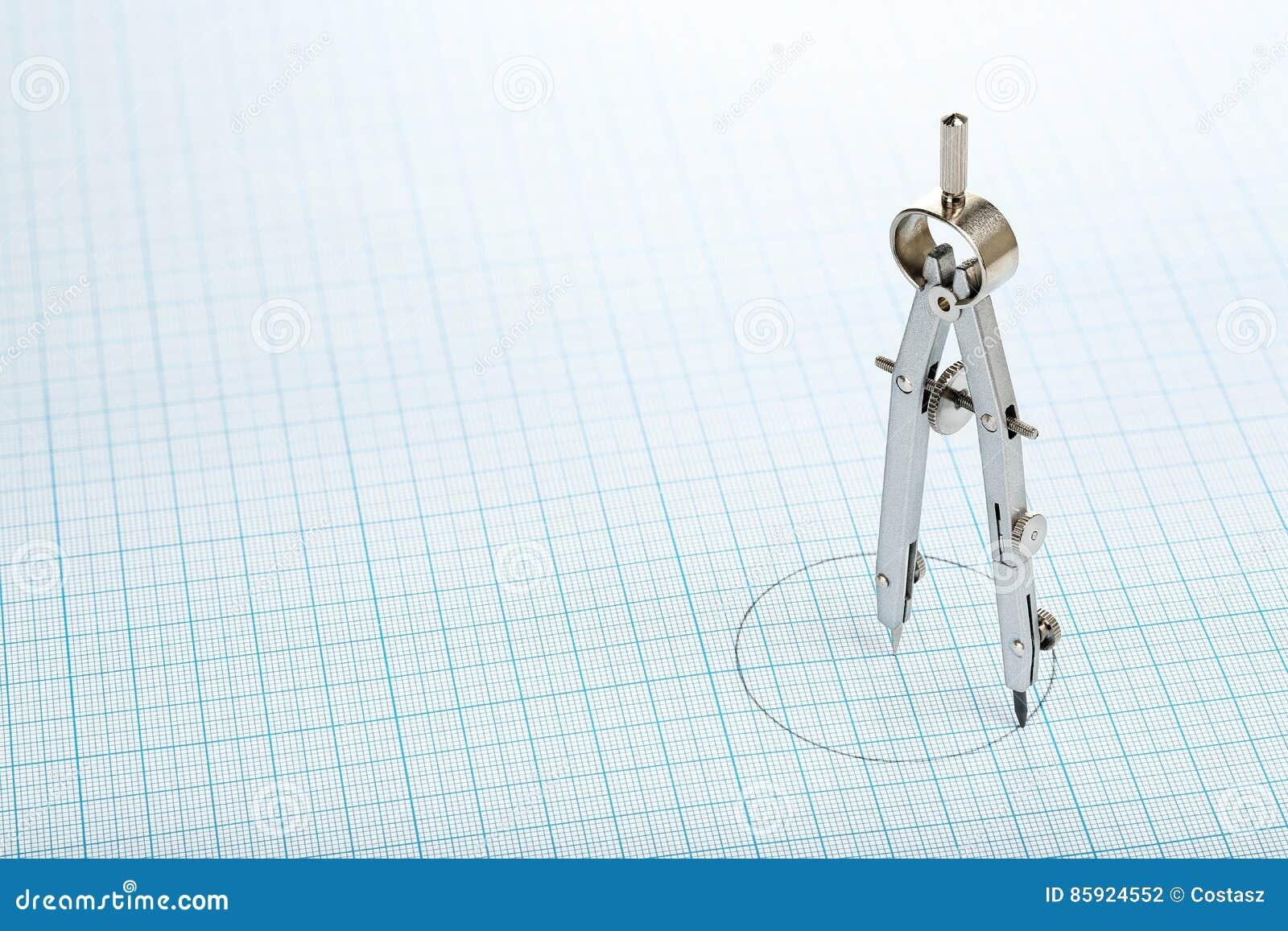 Kompass på papper