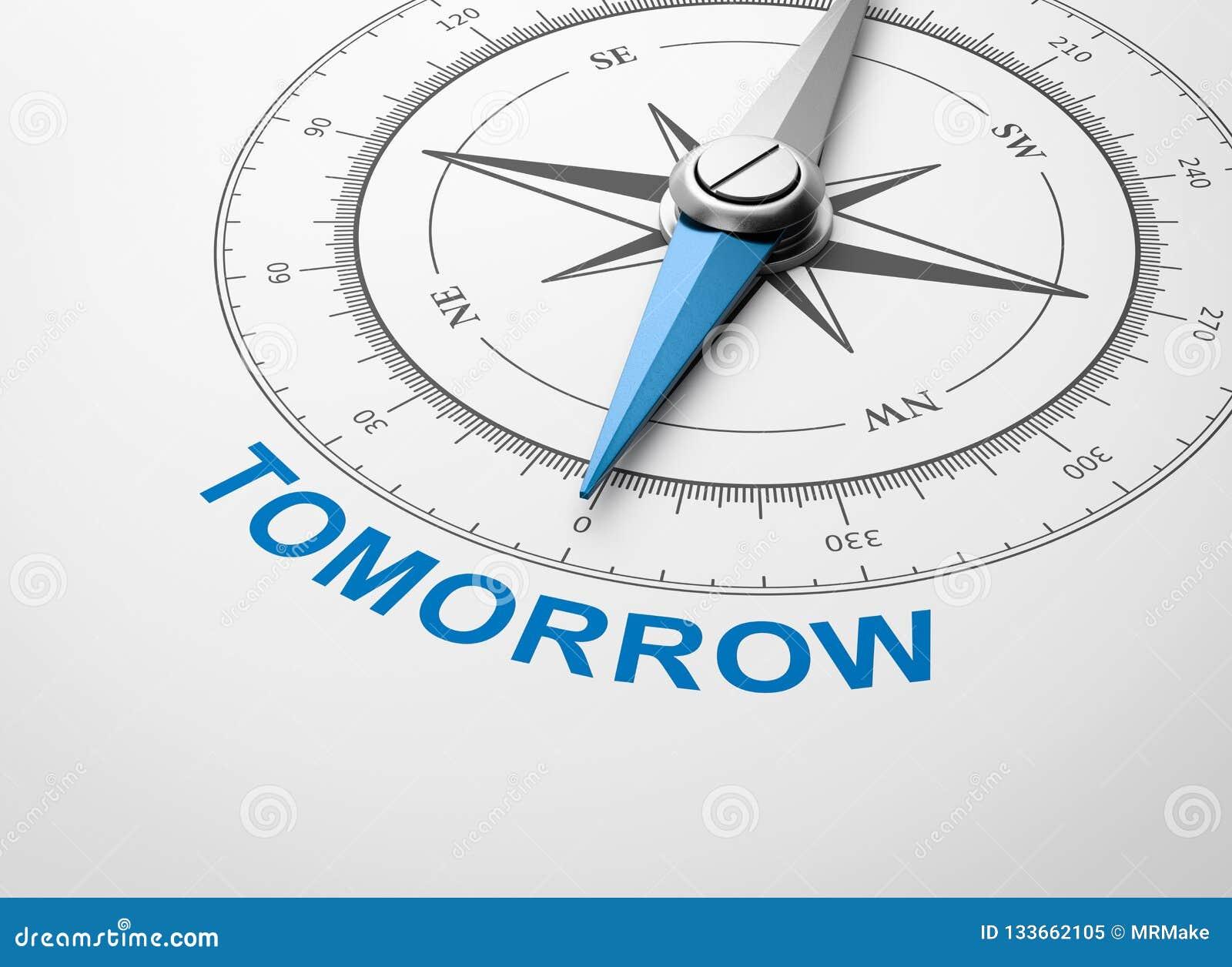 Kompass på vit bakgrund, i morgon begrepp