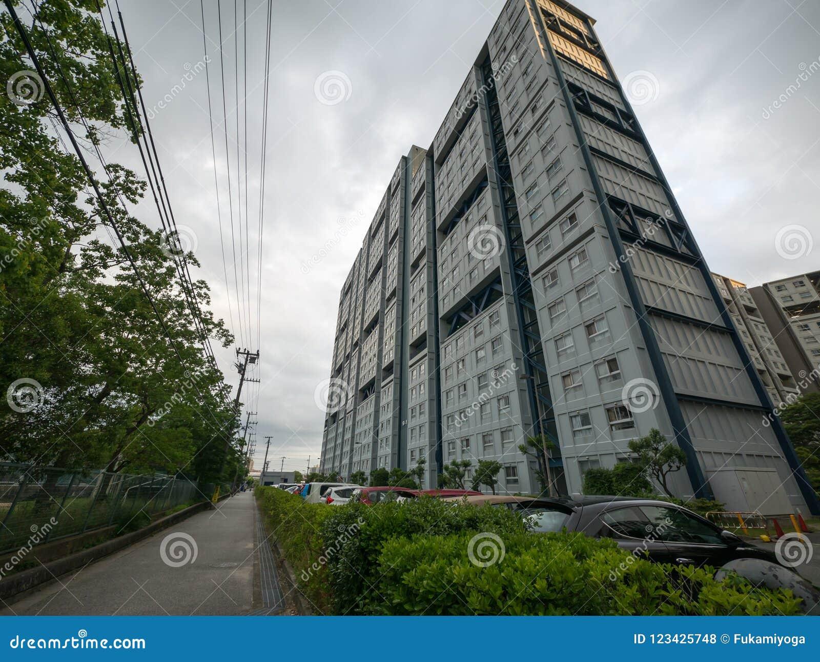 Kompleks mieszkaniowy w Japonia