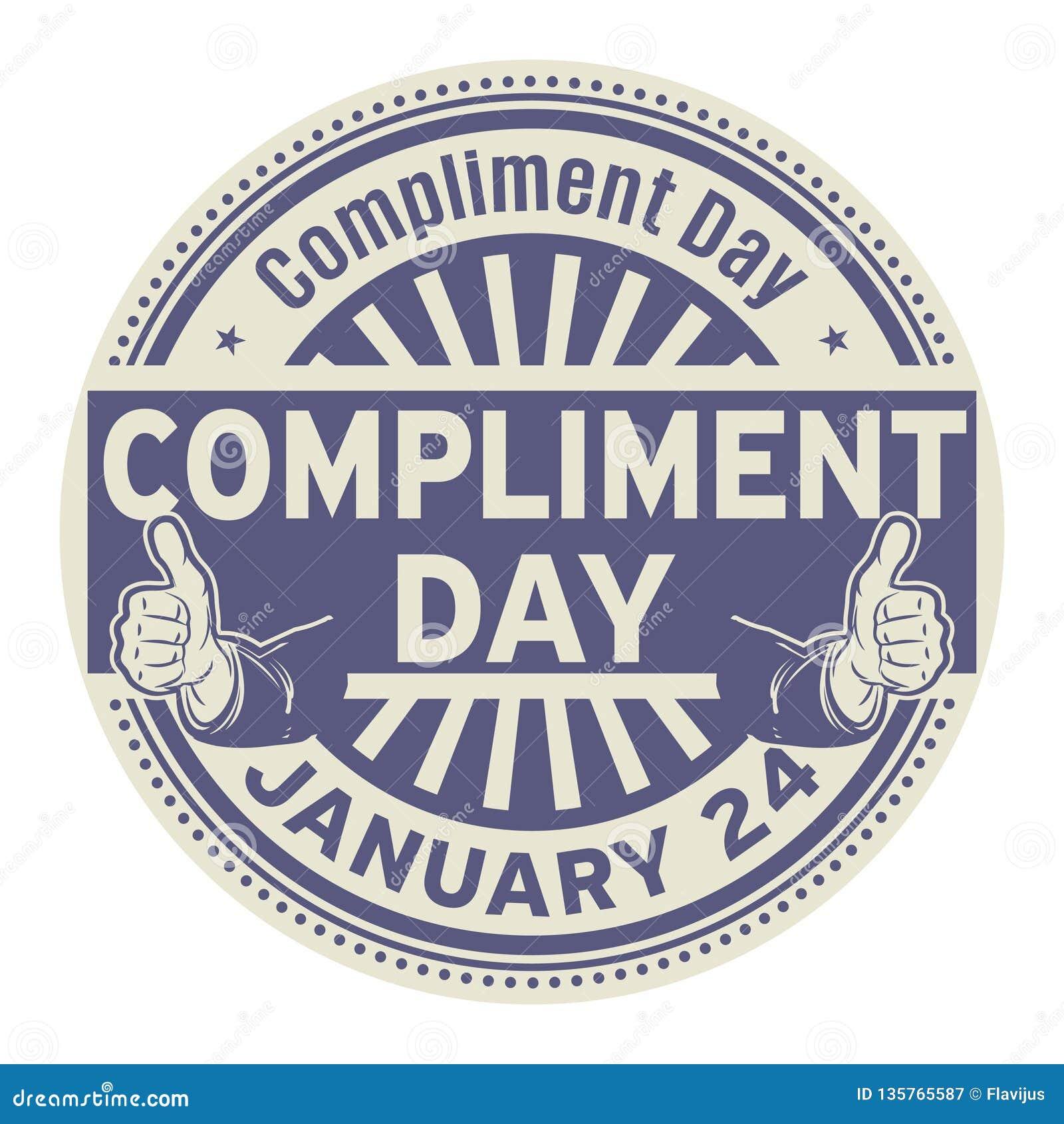Komplimangdag, Januari 24