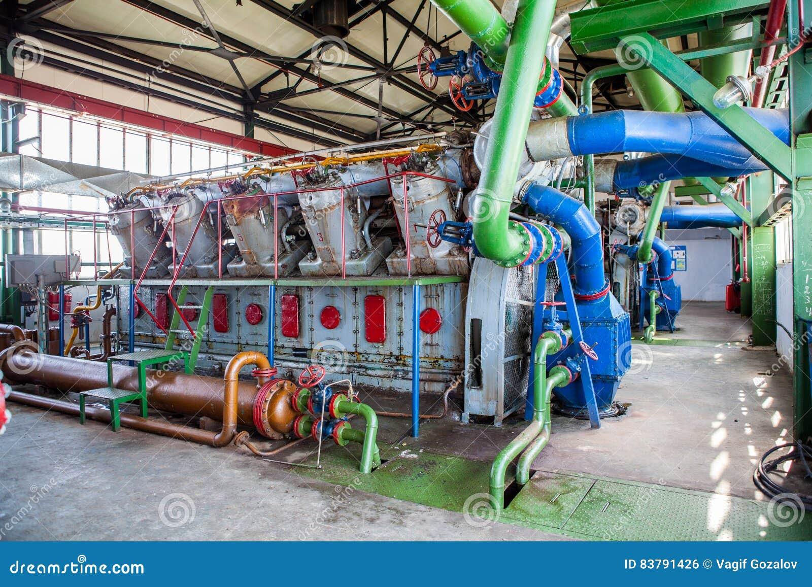 Kompresoru i poborcy maszyna w fabryce