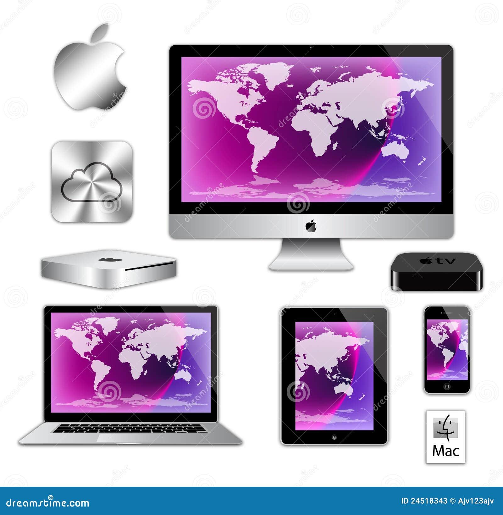 Komputer apple imac ipad iphone macbook
