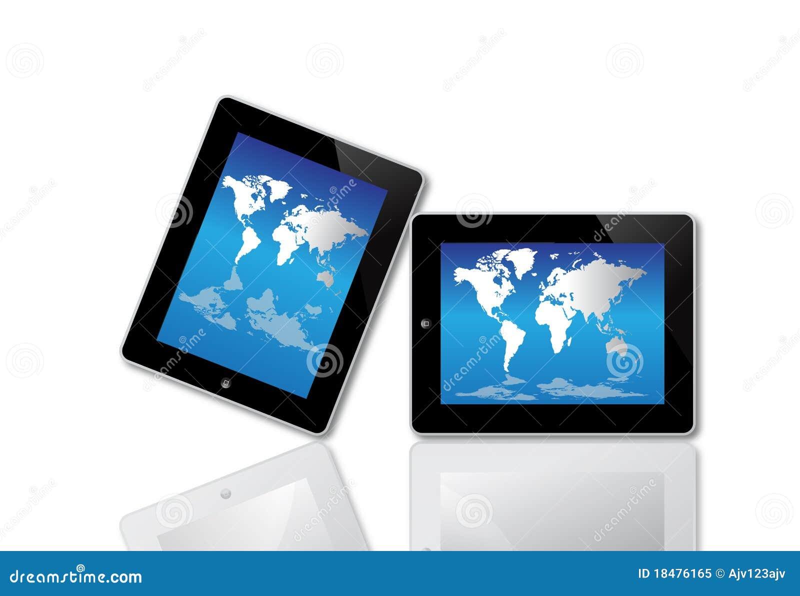 Komputer apple ipad ekran