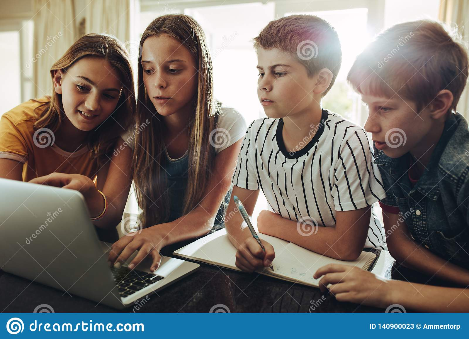 Komputer jest wielkim uczenie pomocą dla uczni