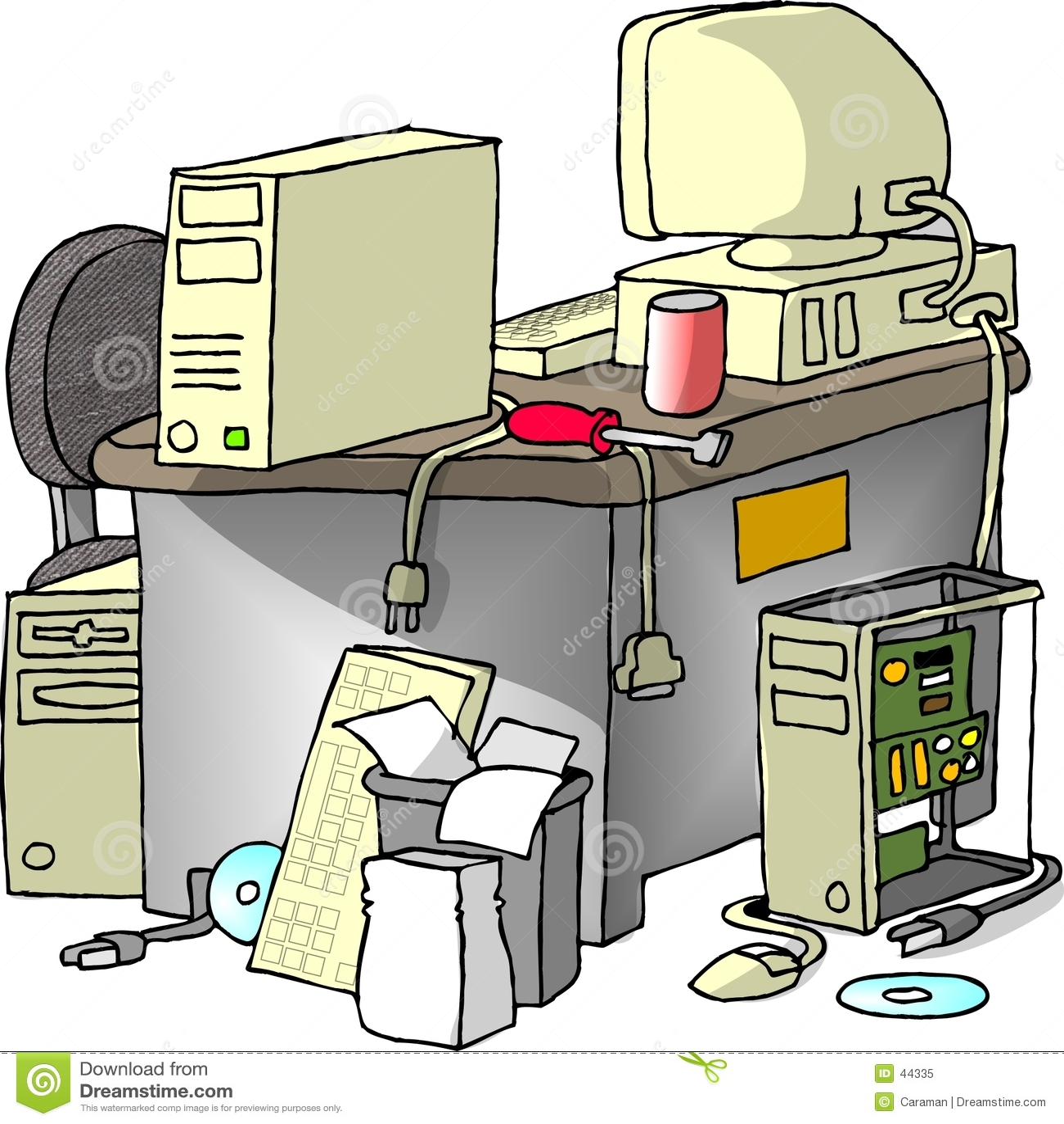 Komputer naprawy