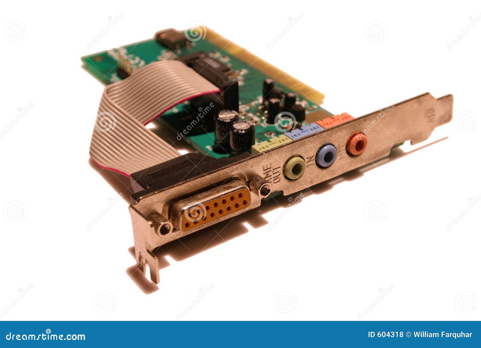 Komputer osobisty karty dźwięk
