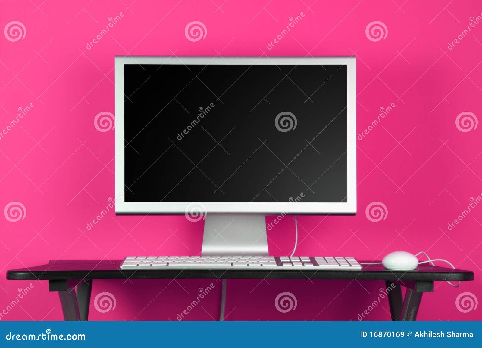Komputerowa desktop menchii ściana