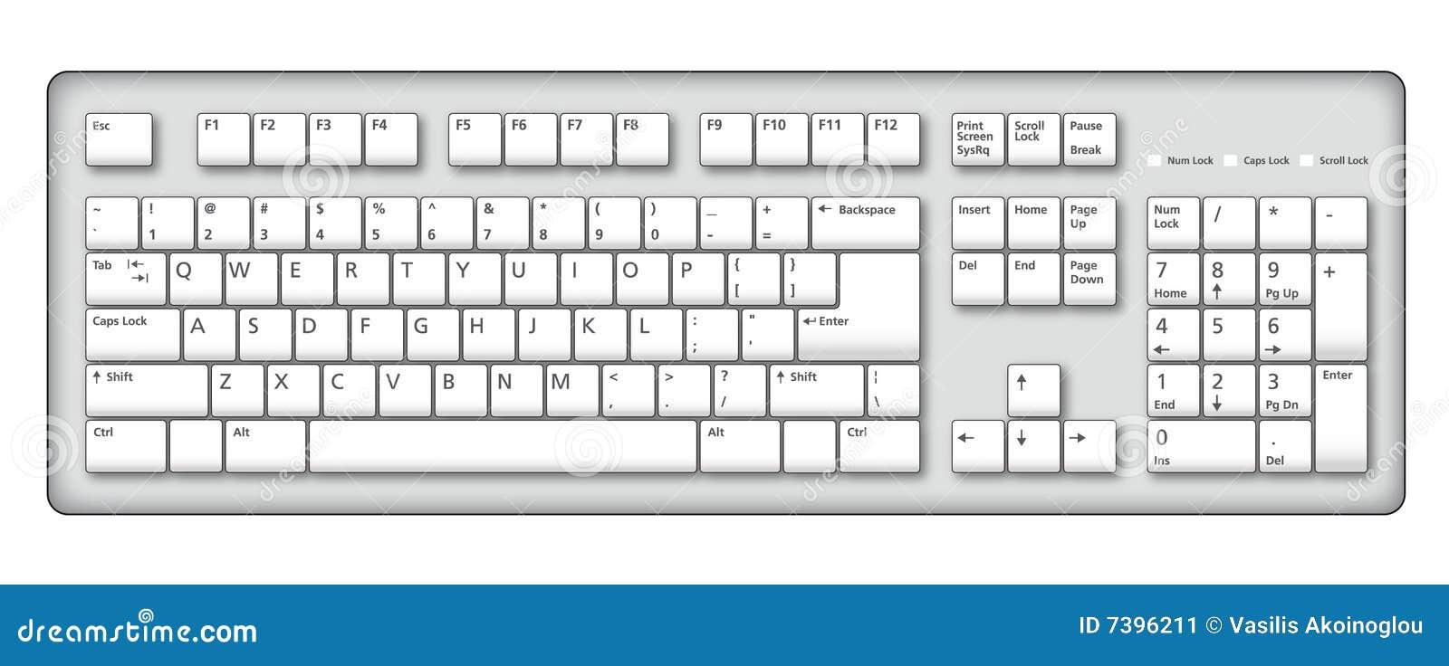 laptop keyboard drawing - photo #24