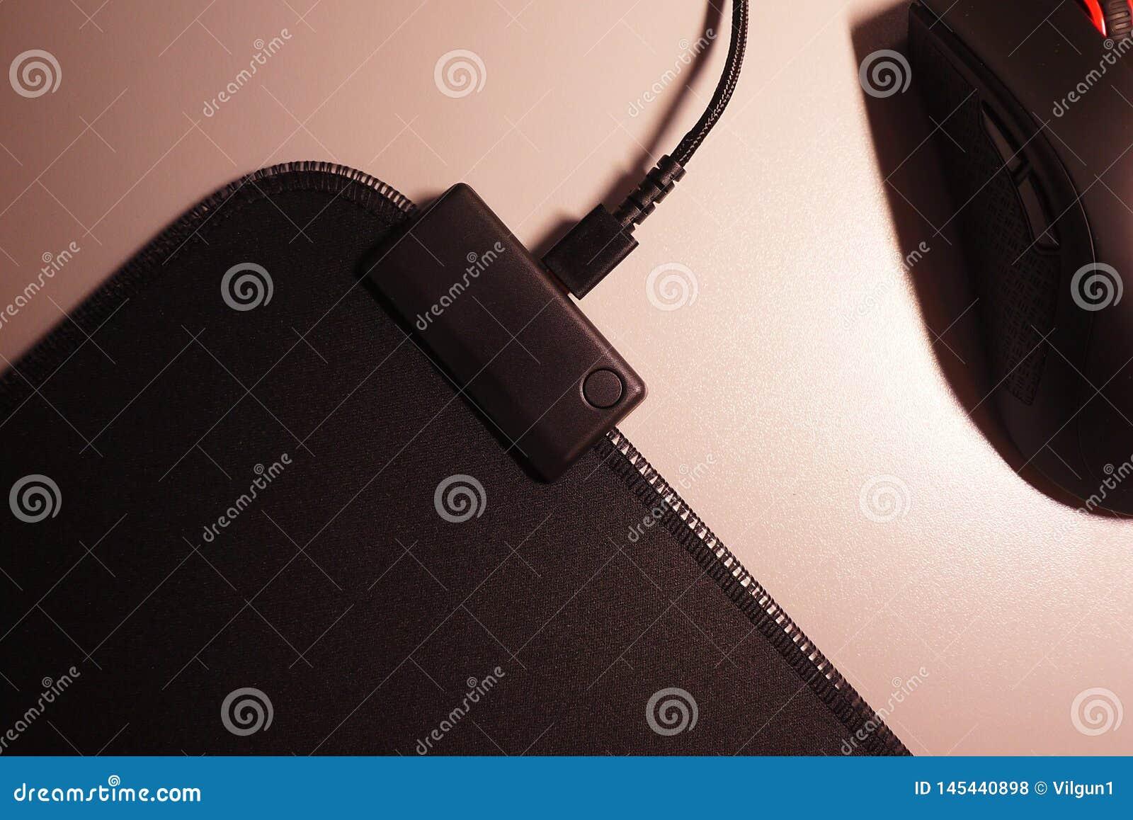 Komputerowa mysz dla gamers, mo?e u?ywa? w grach i na komputerze osobistym Szczeg??y w g?r? i