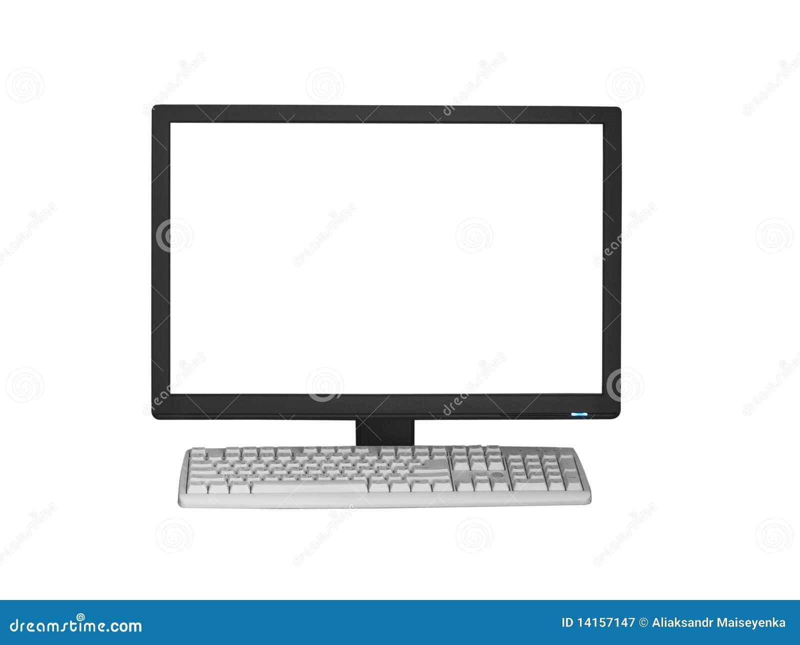 Komputerowej klawiatury monitor
