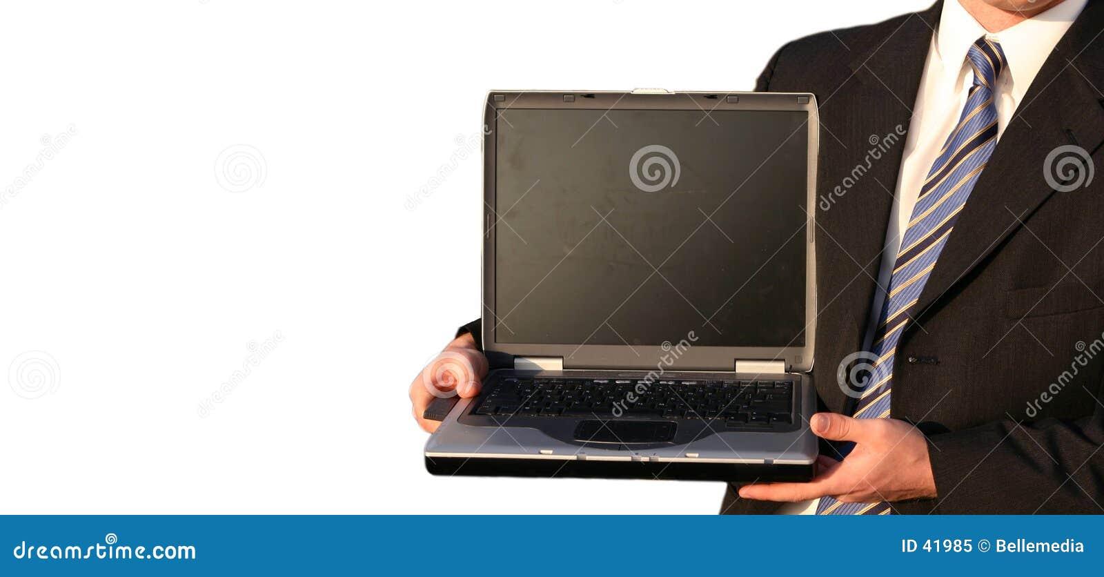 Komputerowy człowiek interes