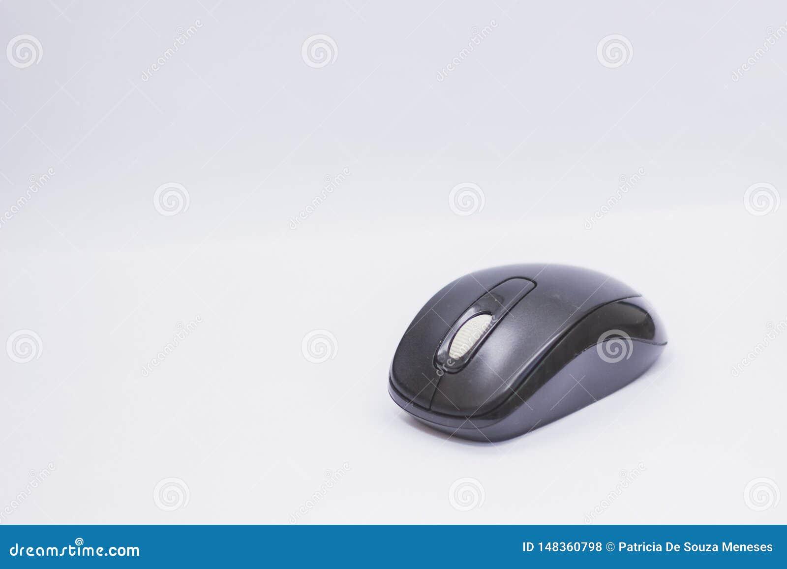 Komputerowy mysz guzika technologii radio