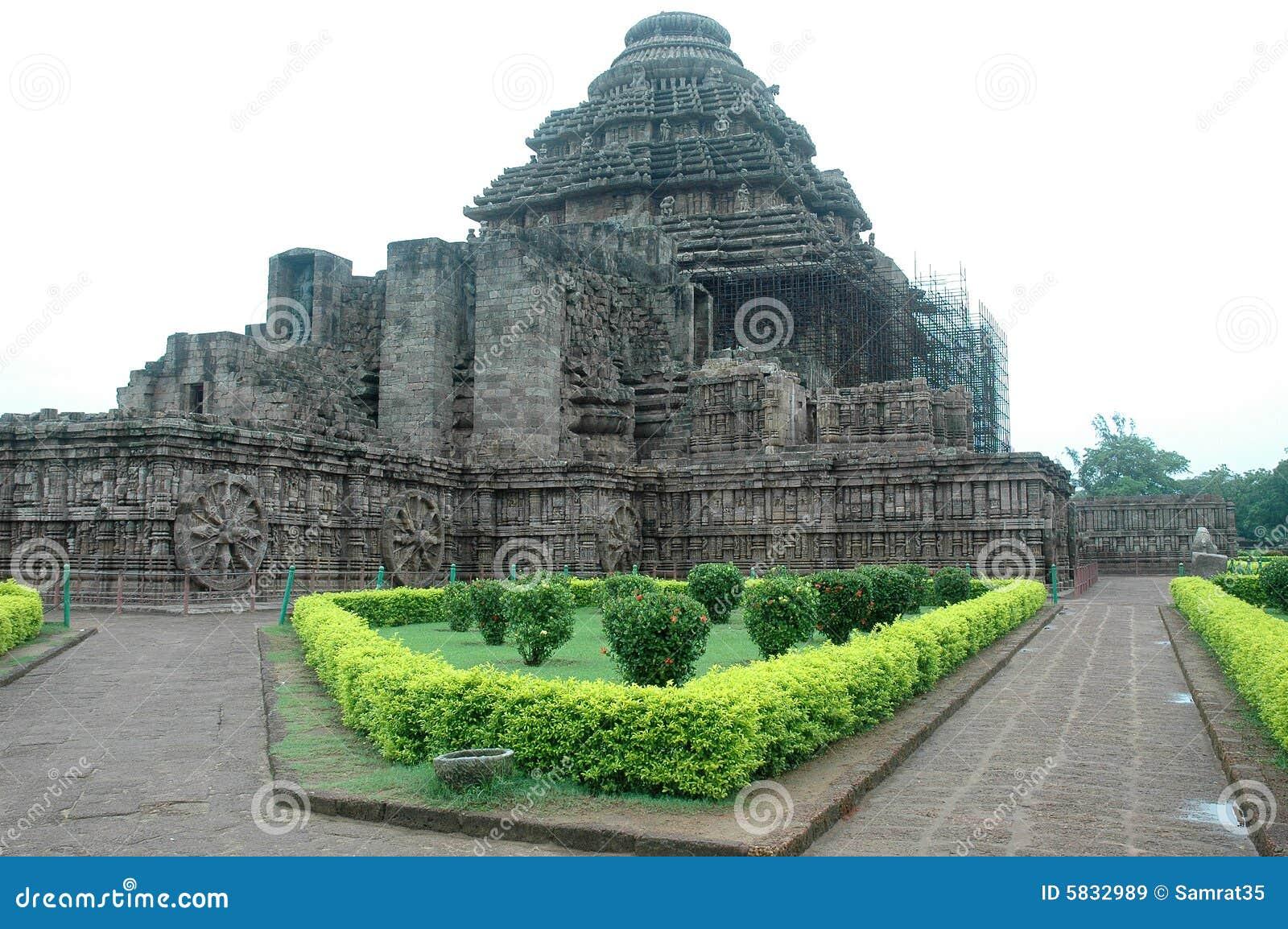 Konark Temple Of Orissa-India. Stock Photo - Image: 5832920