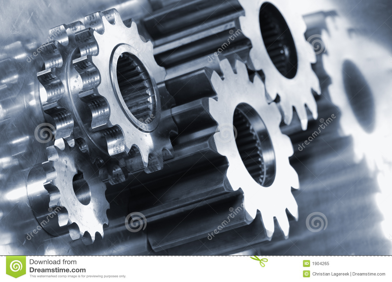 Koncepcja biegu tytanu maszyn