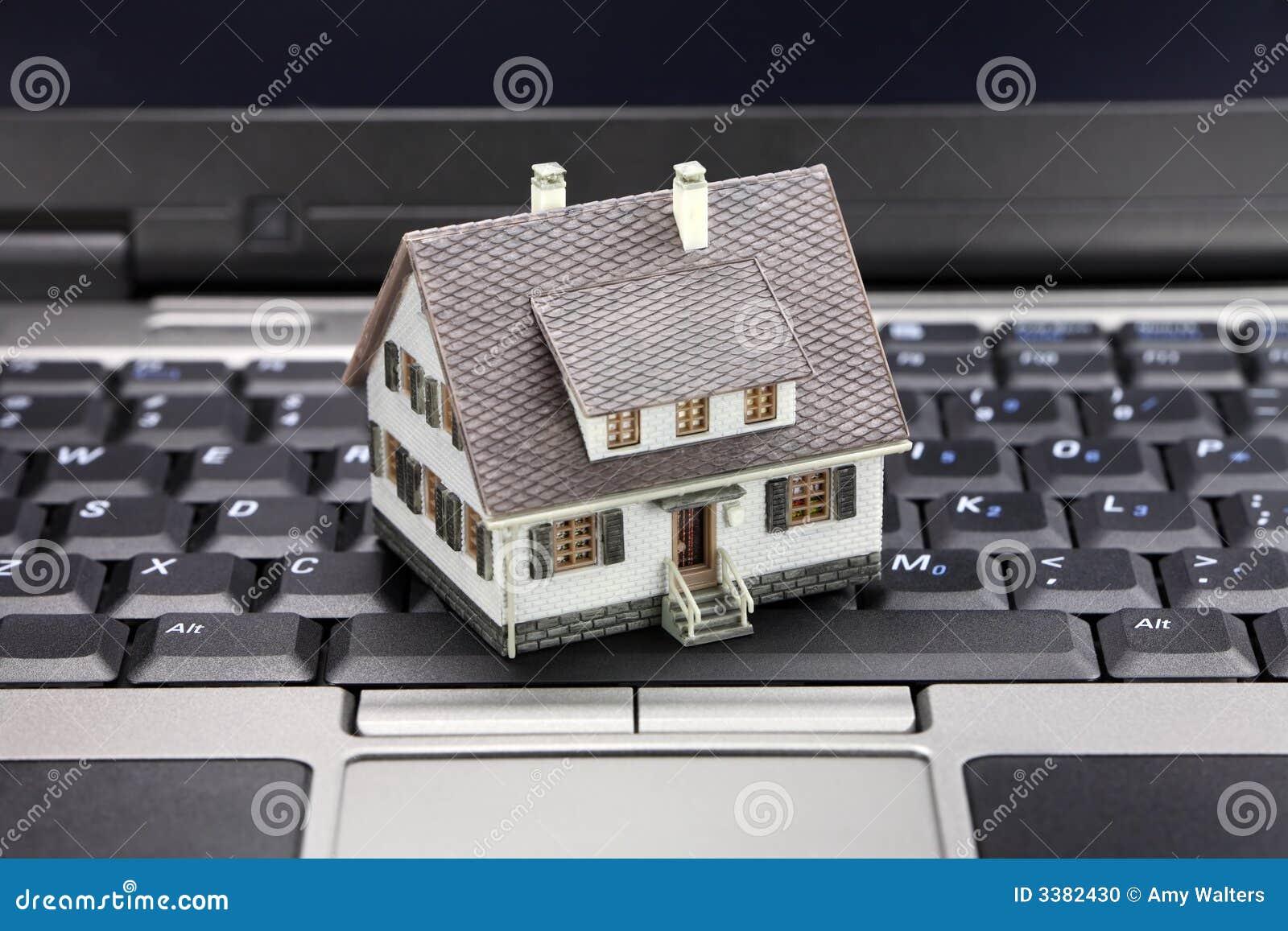 Koncepcja online nieruchomości real