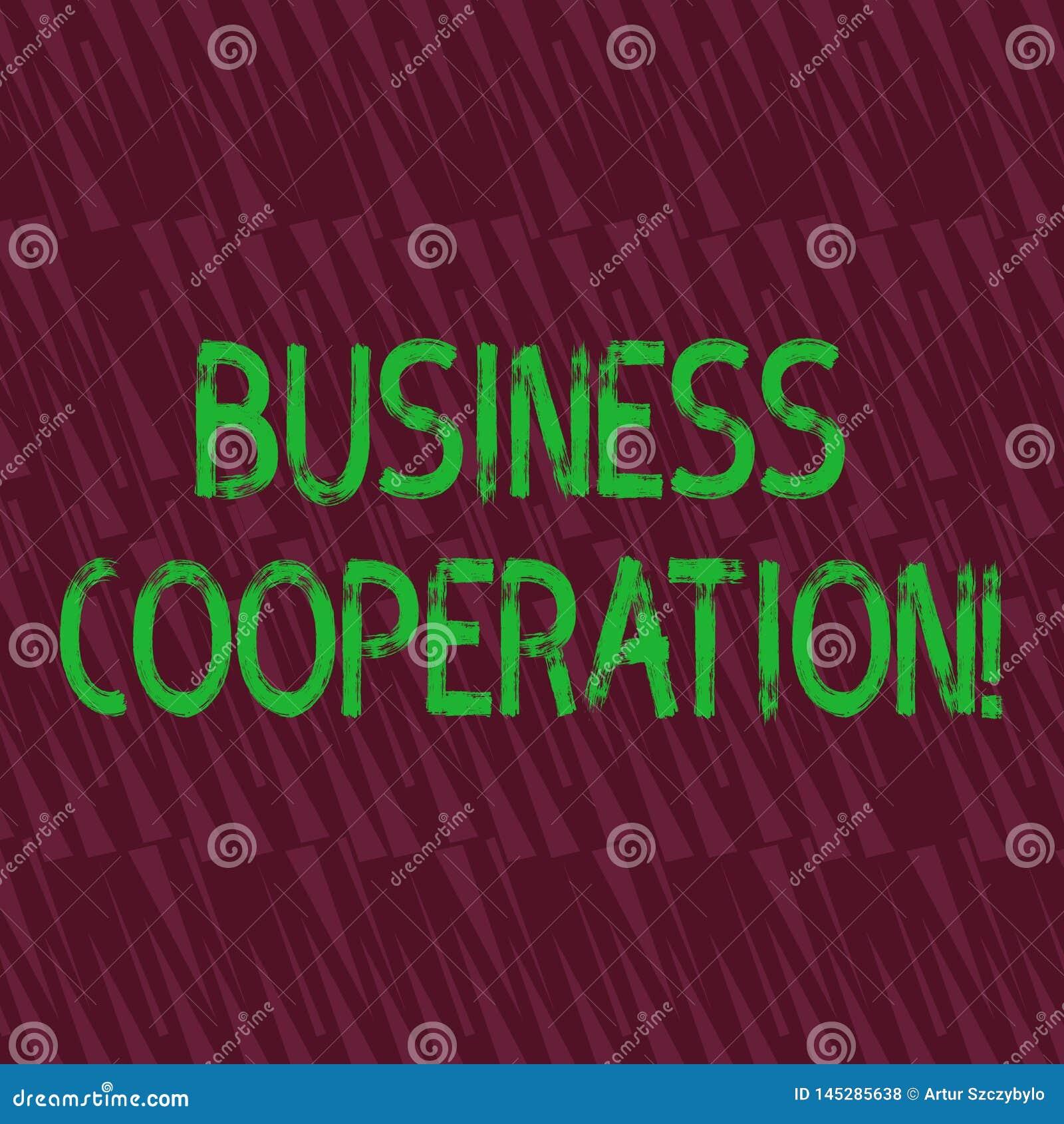 Konceptualna ręka pisze seansu biznesu współpracy Biznesowa fotografia pokazuje biznesy pracować wpólnie dla wspólnego