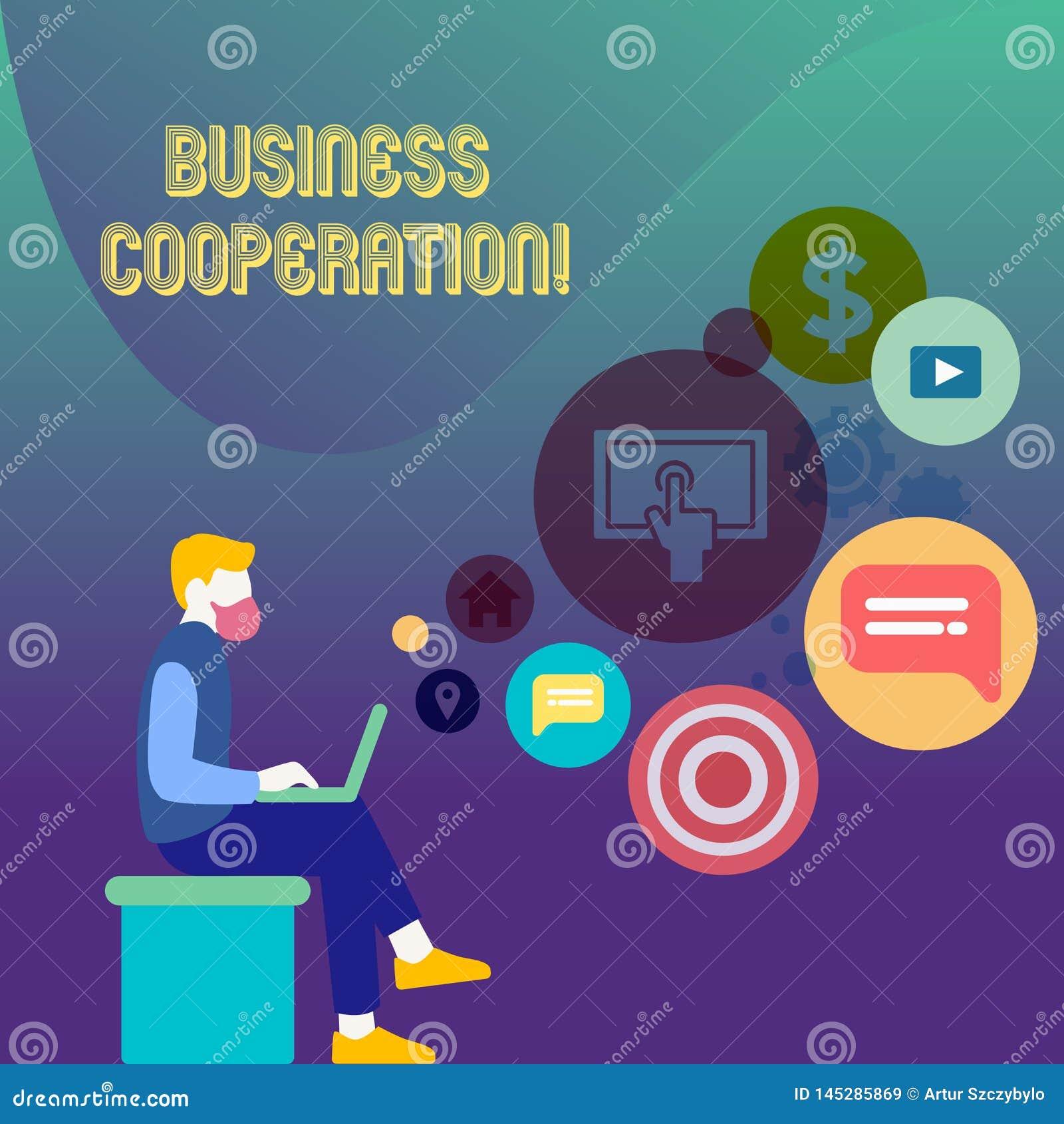Konceptualna r?ka pisze seansu biznesu wsp??pracy Biznesowi fotografia teksta biznesy pracować wpólnie dla wzajemnej korzyści