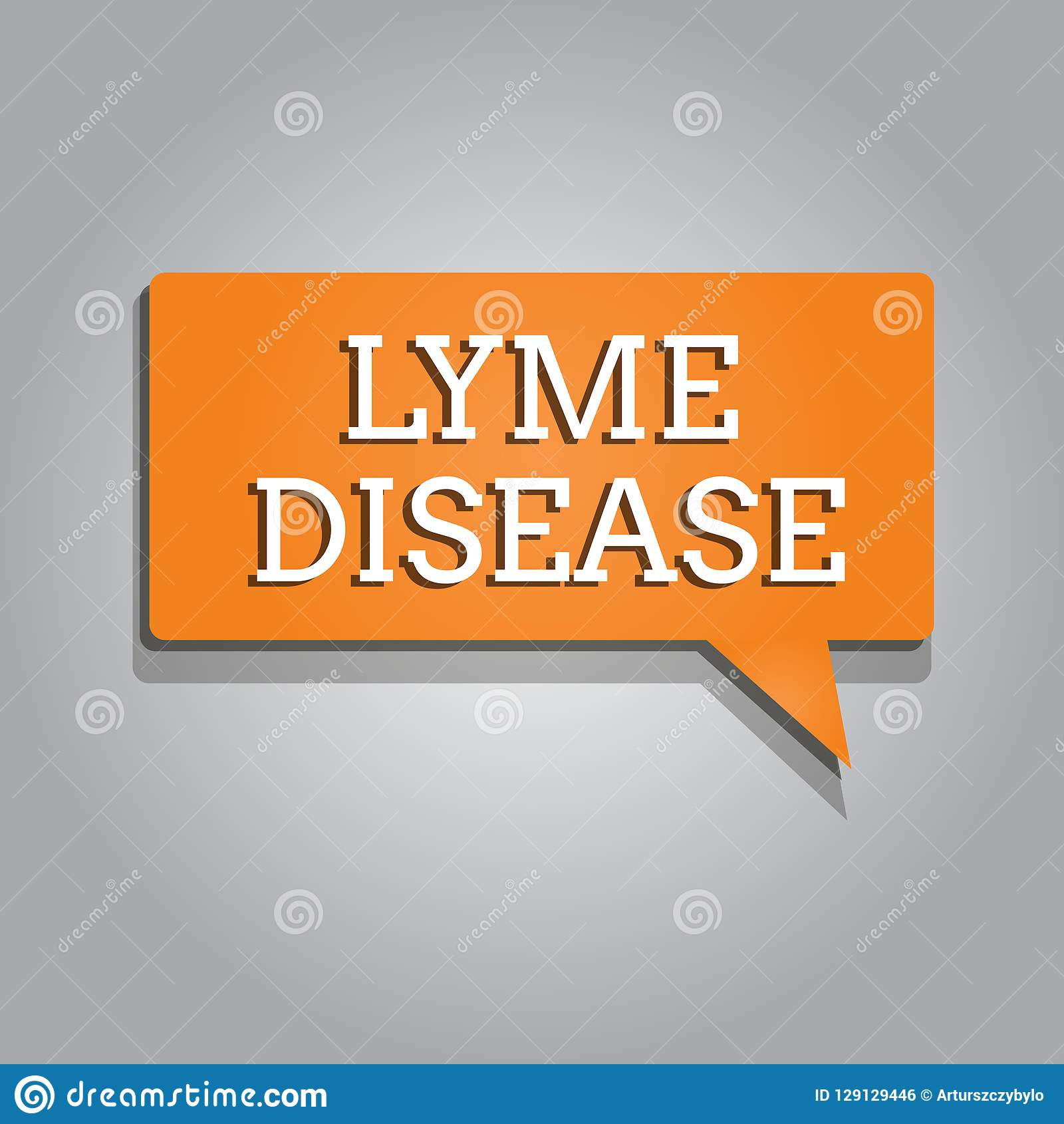 Konceptualny ręki writing pokazuje Lyme chorobę Biznesowa fotografia teksta forma powodować bakteriami które rozprzestrzeniają ar