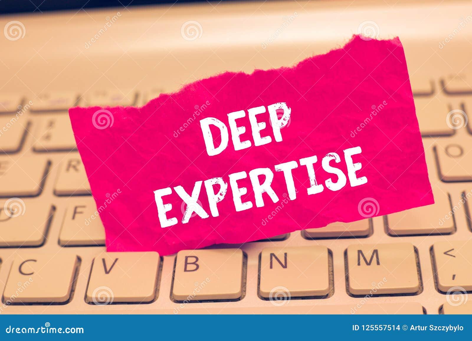 Konceptualny ręki writing seans Zgłębia wiedzę specjalistyczną Biznesowego fotografia teksta Wielka umiejętność lub szeroka wiedz