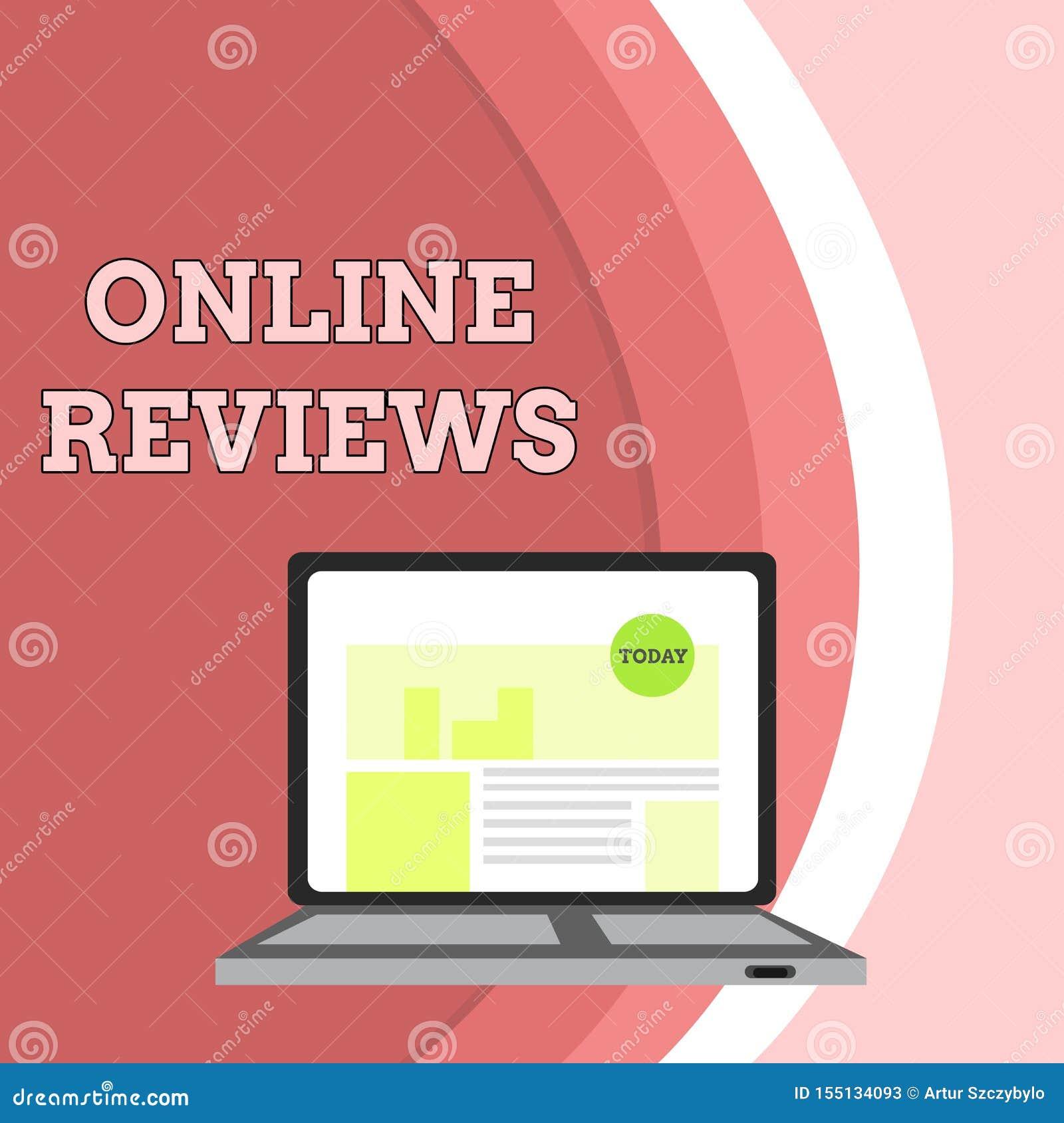 Konceptualny r?ki writing pokazuje Online przegl?dy Biznesowa fotografia pokazuje produktu cenienia klienta informacje zwrotne pu