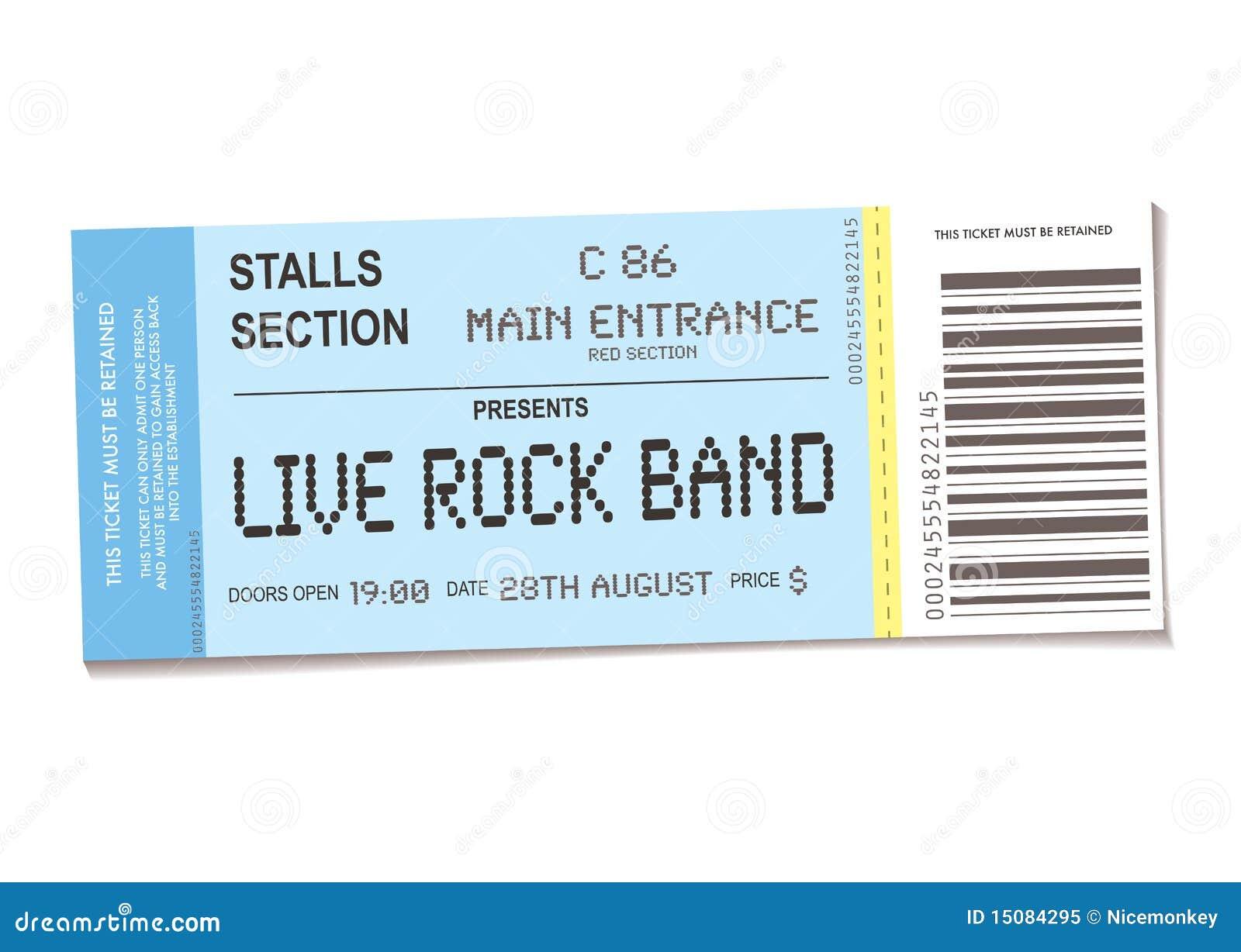 Koncertowy bilet