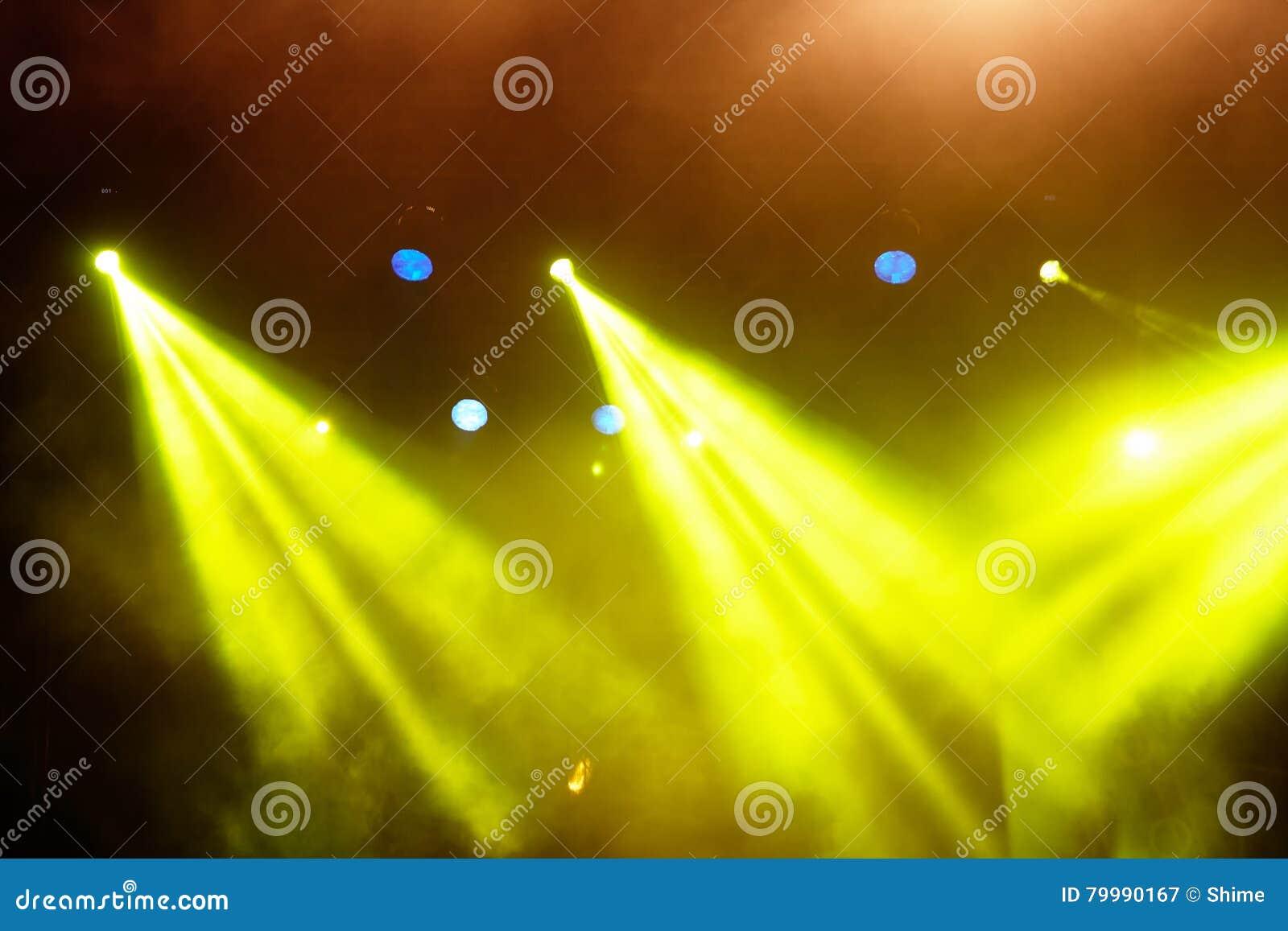 Koncertowy Lekki przedstawienie