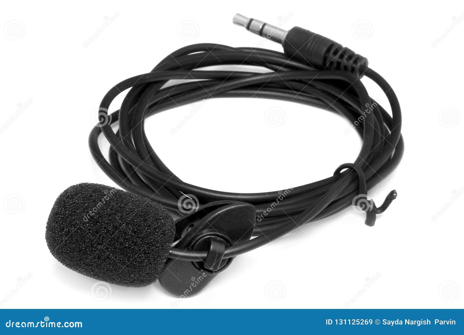Kondensatorowy lavalier krawat klamerki mikrofon