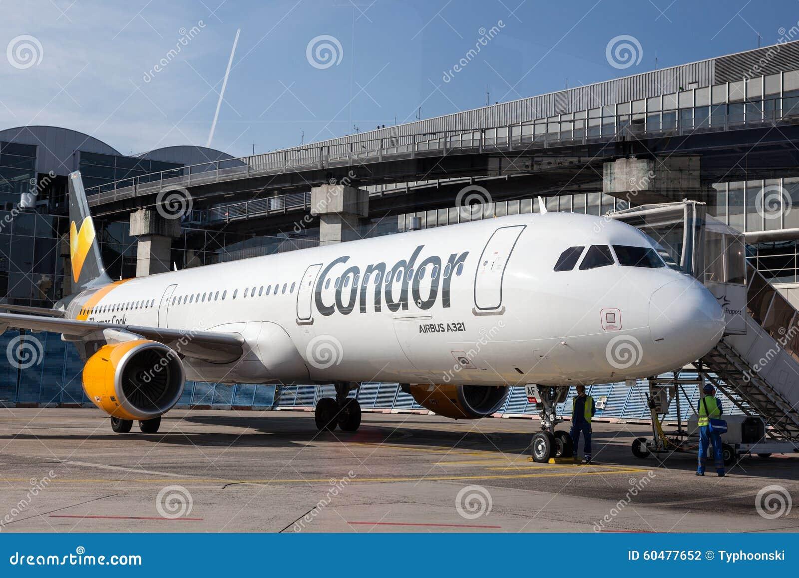 Kondor Airbus A321 Am Frankfurt Flughafen Redaktionelles